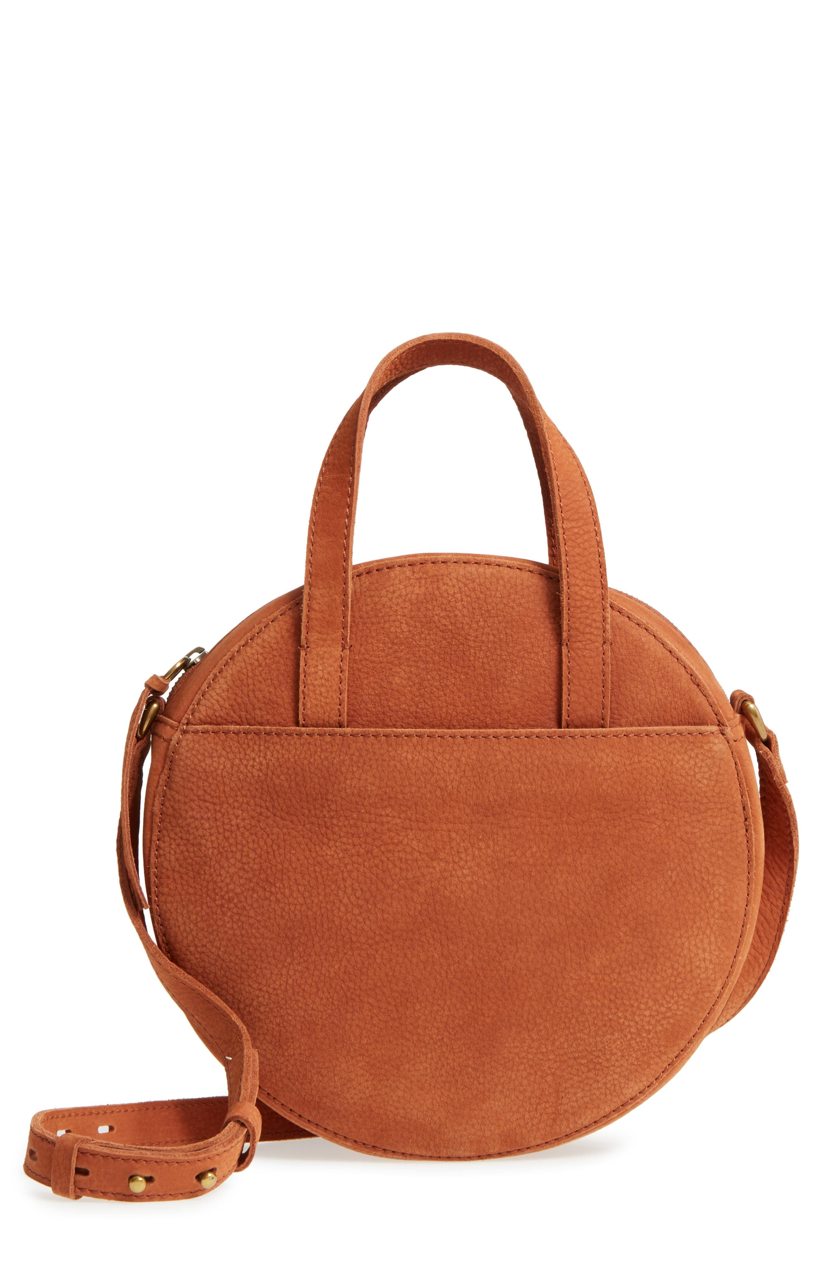 Madewell Juno Circle Leather Shoulder Bag