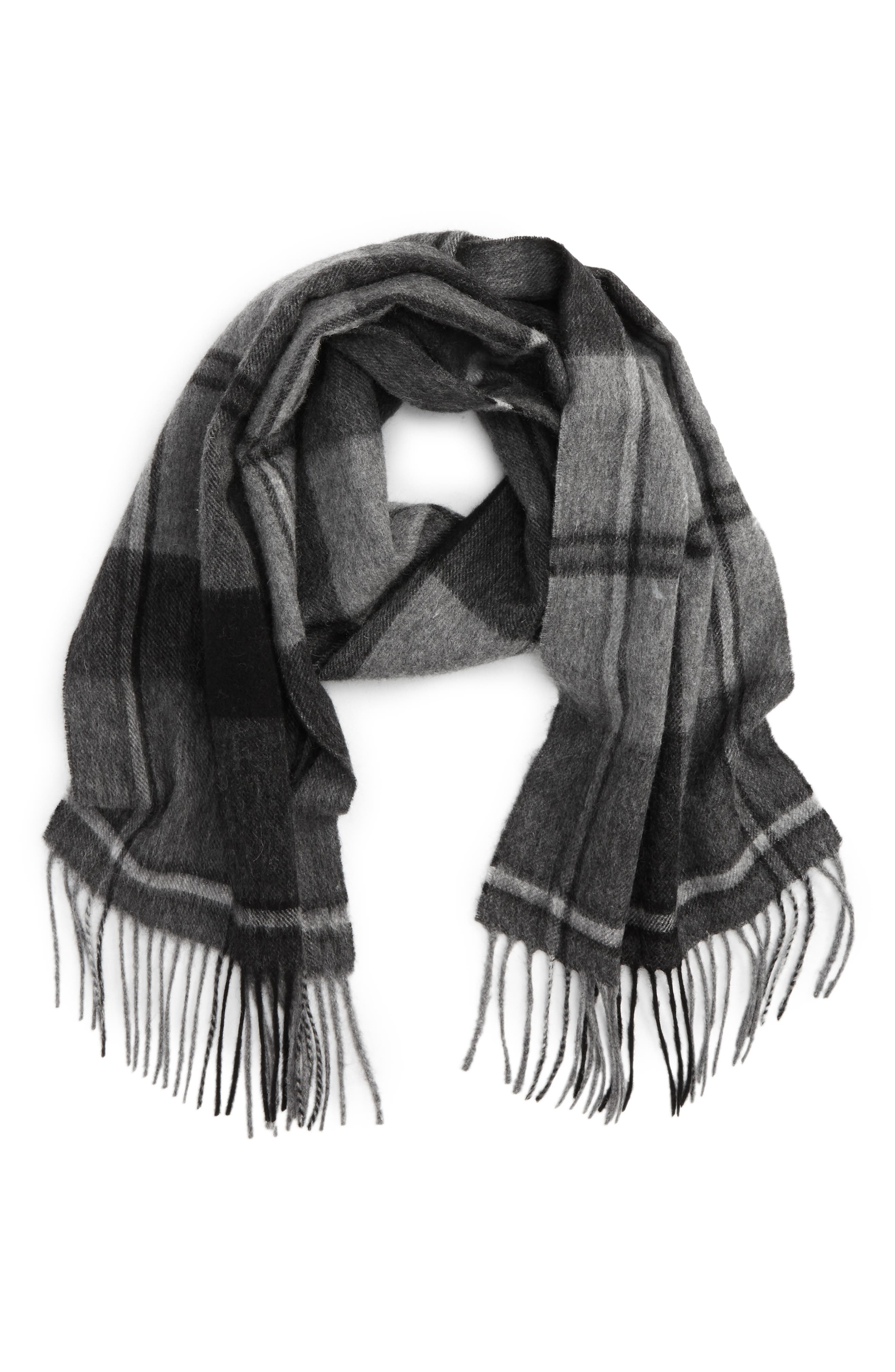Barbour Linton Plaid Wool & Cashmere Scarf