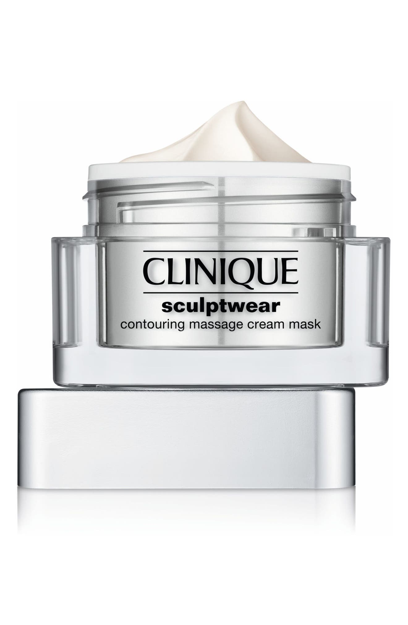 Sculptwear Contouring Massage Cream Mask,                             Alternate thumbnail 2, color,                             No Color