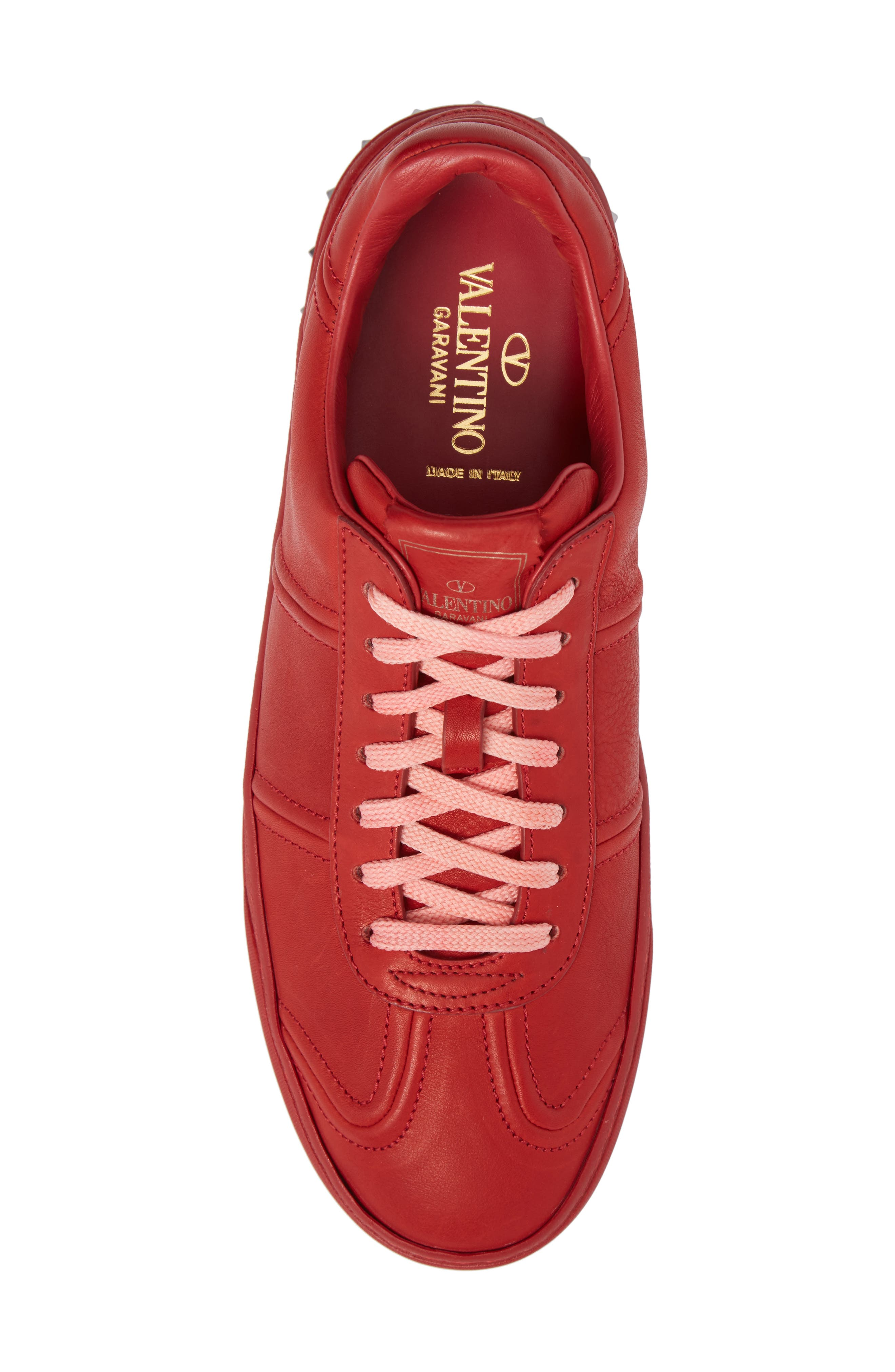 Fly Crew Sneaker,                             Alternate thumbnail 5, color,                             Rosso