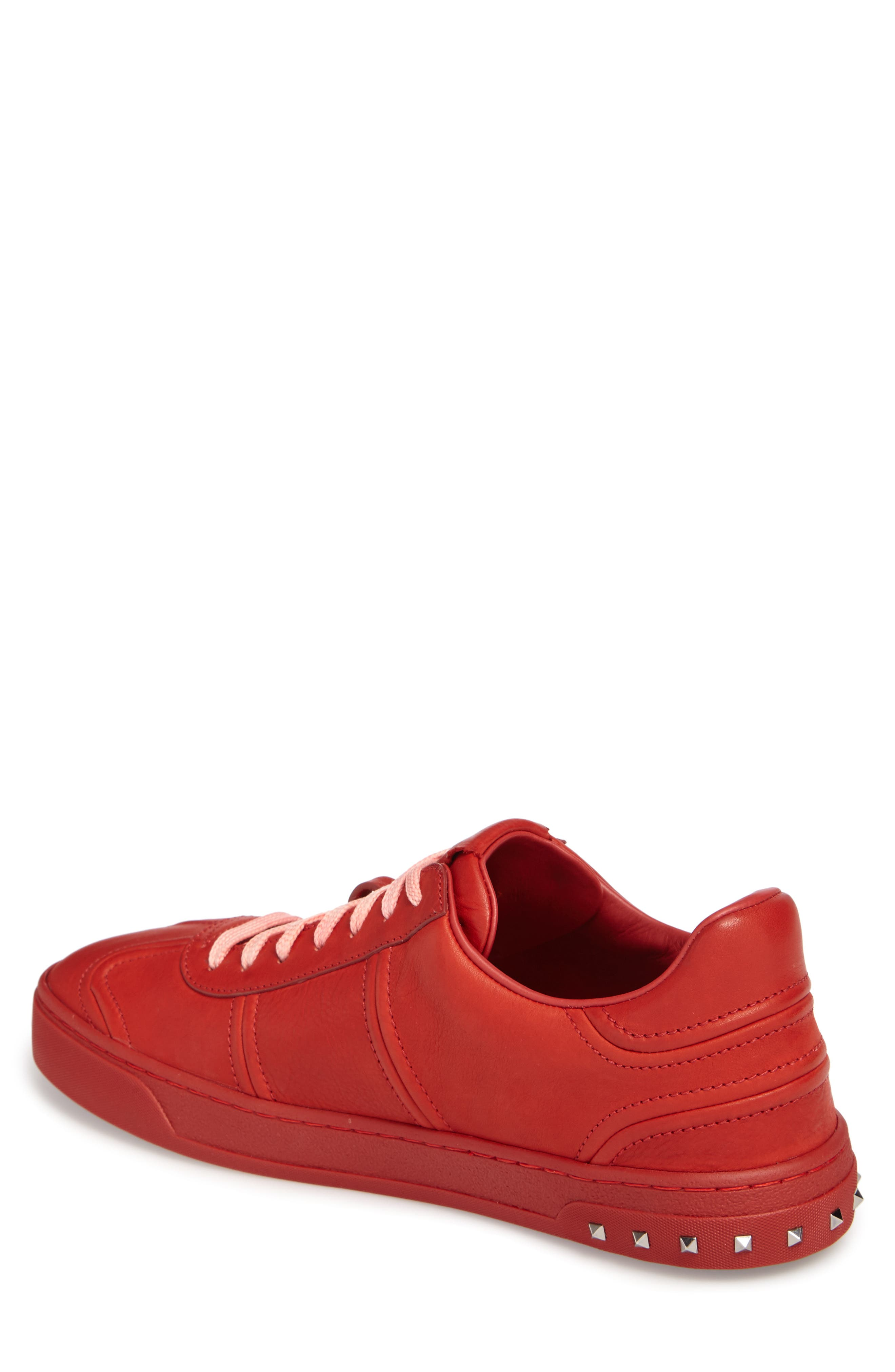 Fly Crew Sneaker,                             Alternate thumbnail 2, color,                             Rosso