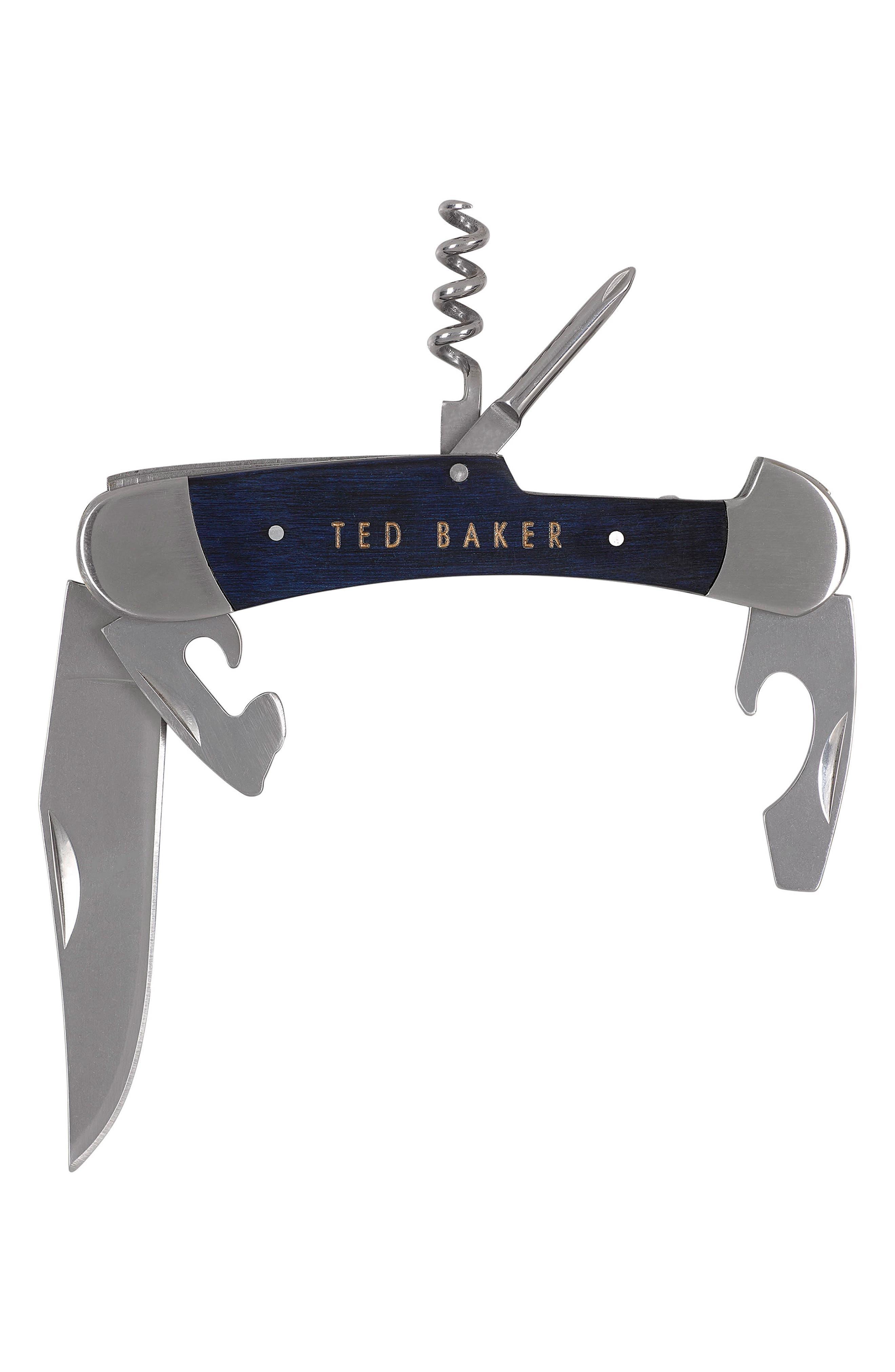 Multi-Tool Pen Knife,                             Alternate thumbnail 3, color,                             Blue Cadet
