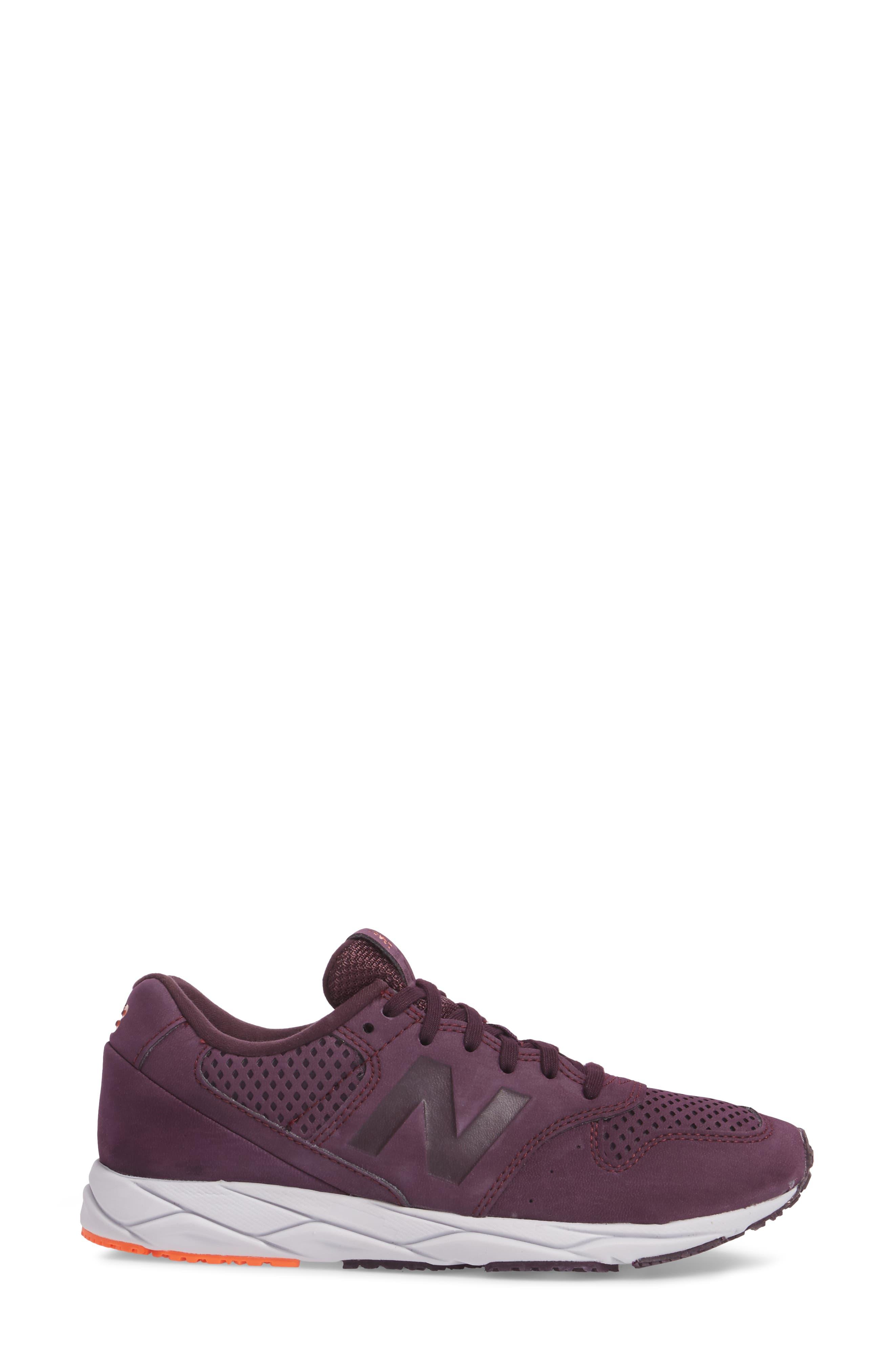 96 Mash-Up Sneaker,                             Alternate thumbnail 3, color,                             Black Rose