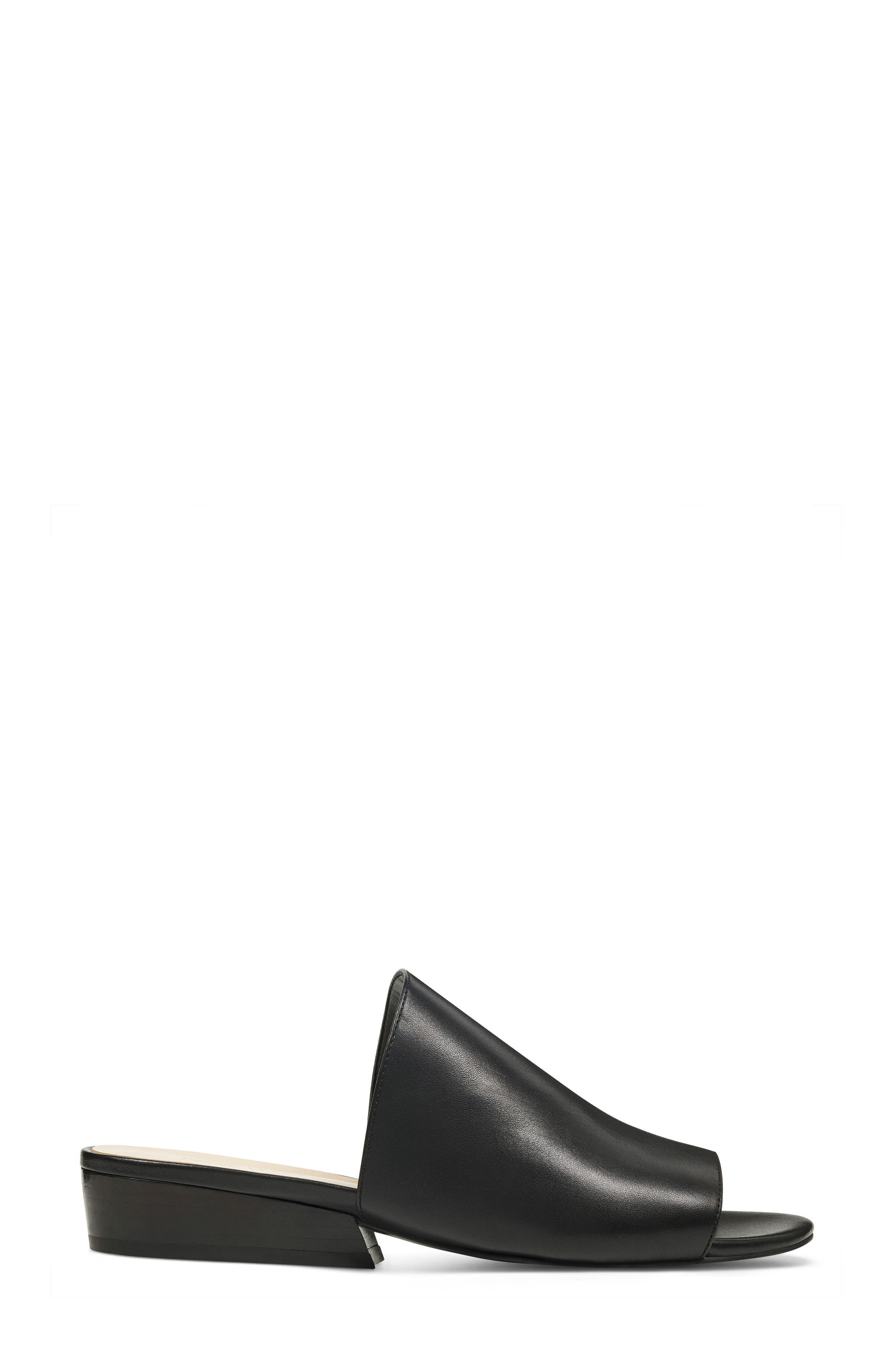 Lynneah Sandal,                             Alternate thumbnail 3, color,                             Black Leather