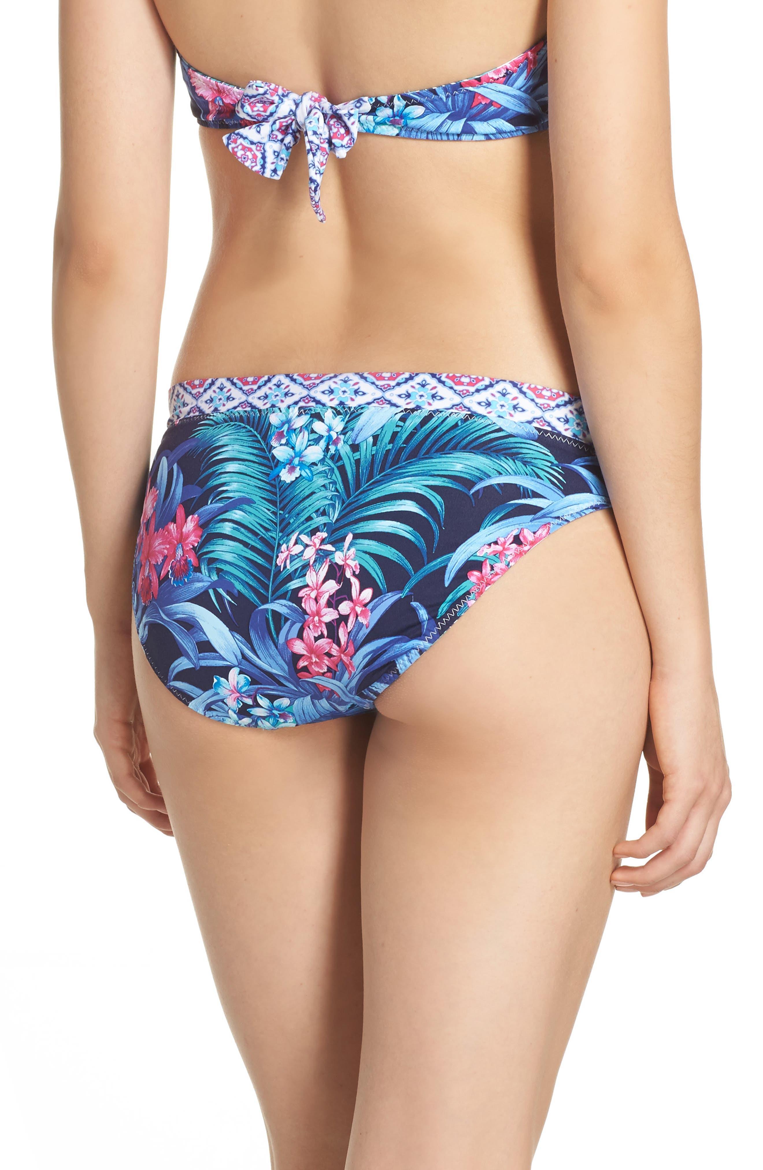 Alternate Image 3  - Tommy Bahama Majorelle Reversible Hipster Bikini Bottoms