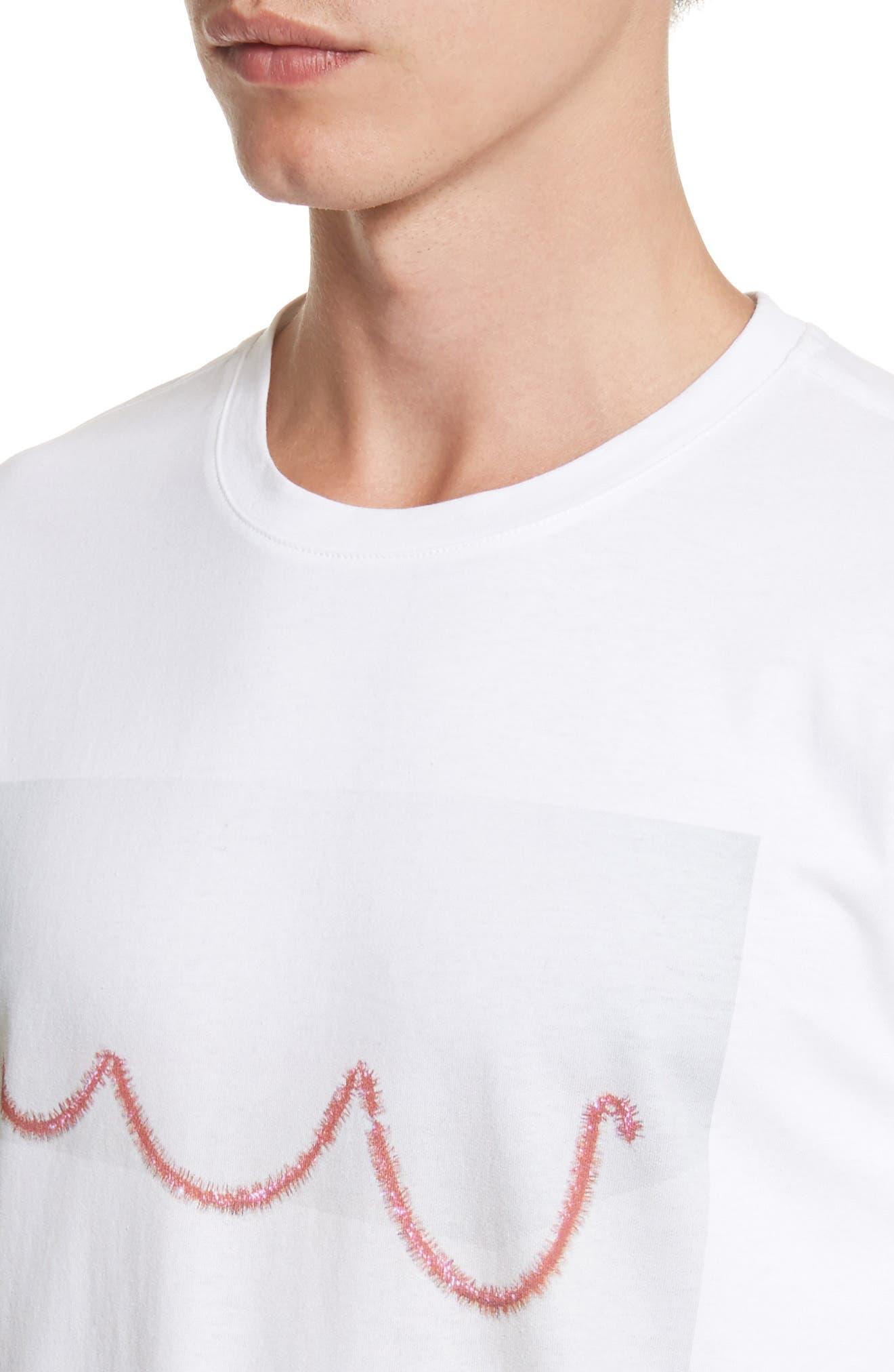 Alternate Image 4  - A.P.C. Serpentin T-Shirt