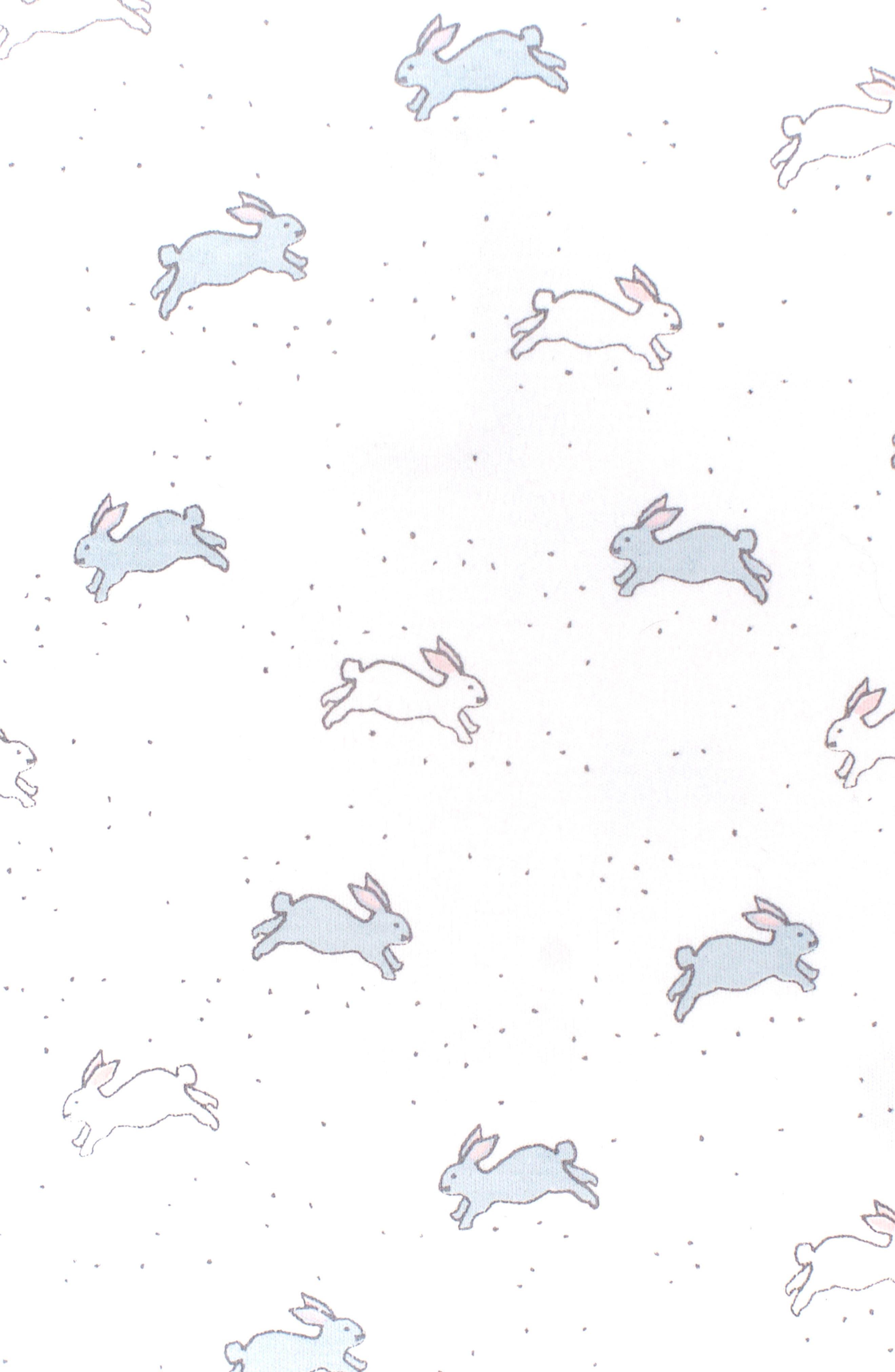Alternate Image 2  - Petit Pehr Tiny Bunny Bodysuit (Baby)