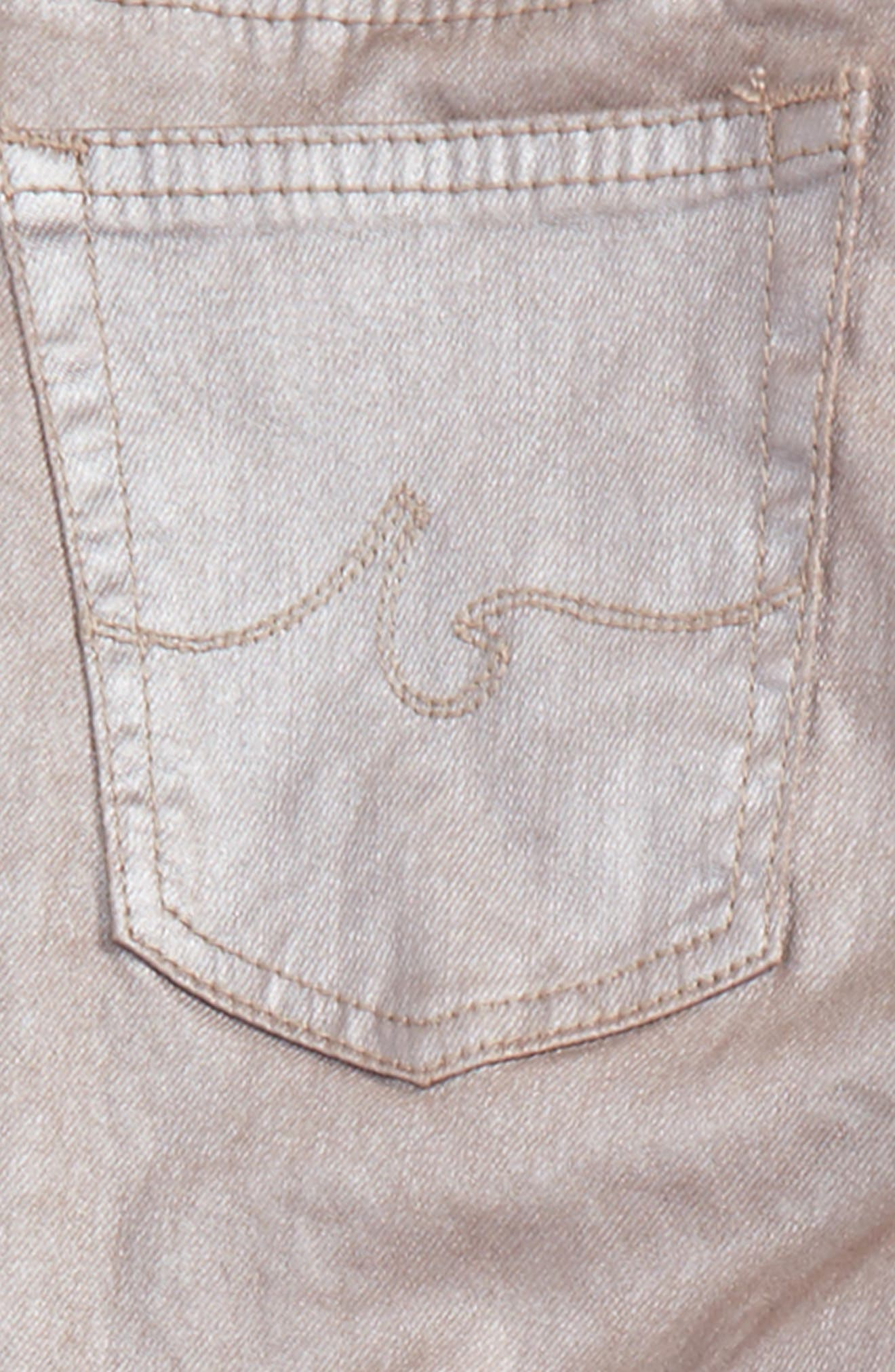 The Sleek Twiggy Ankle Jeans,                             Alternate thumbnail 2, color,                             Rose Smoke