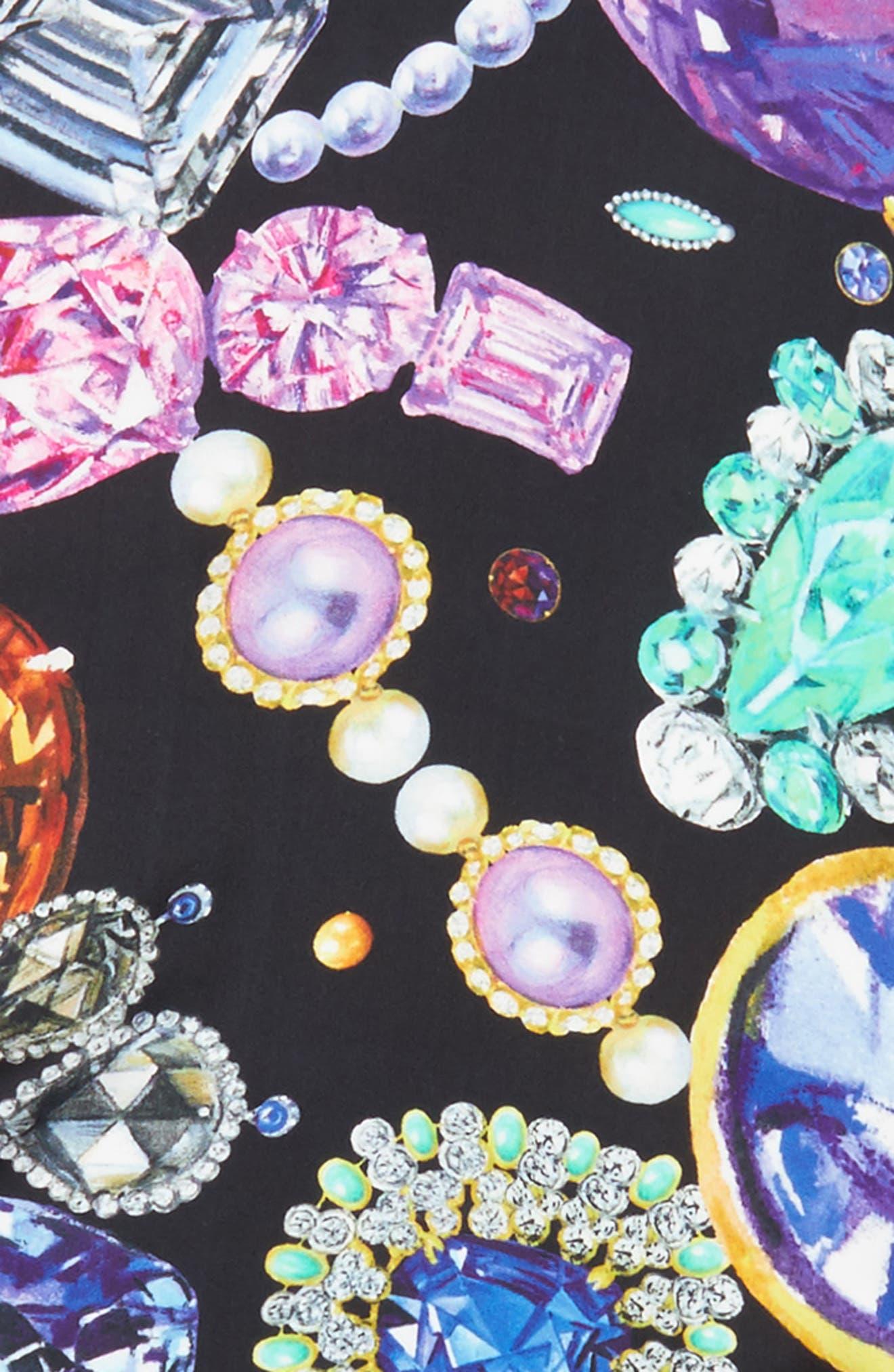 Alternate Image 4  - Echo Bejeweled Diamond Silk Scarf