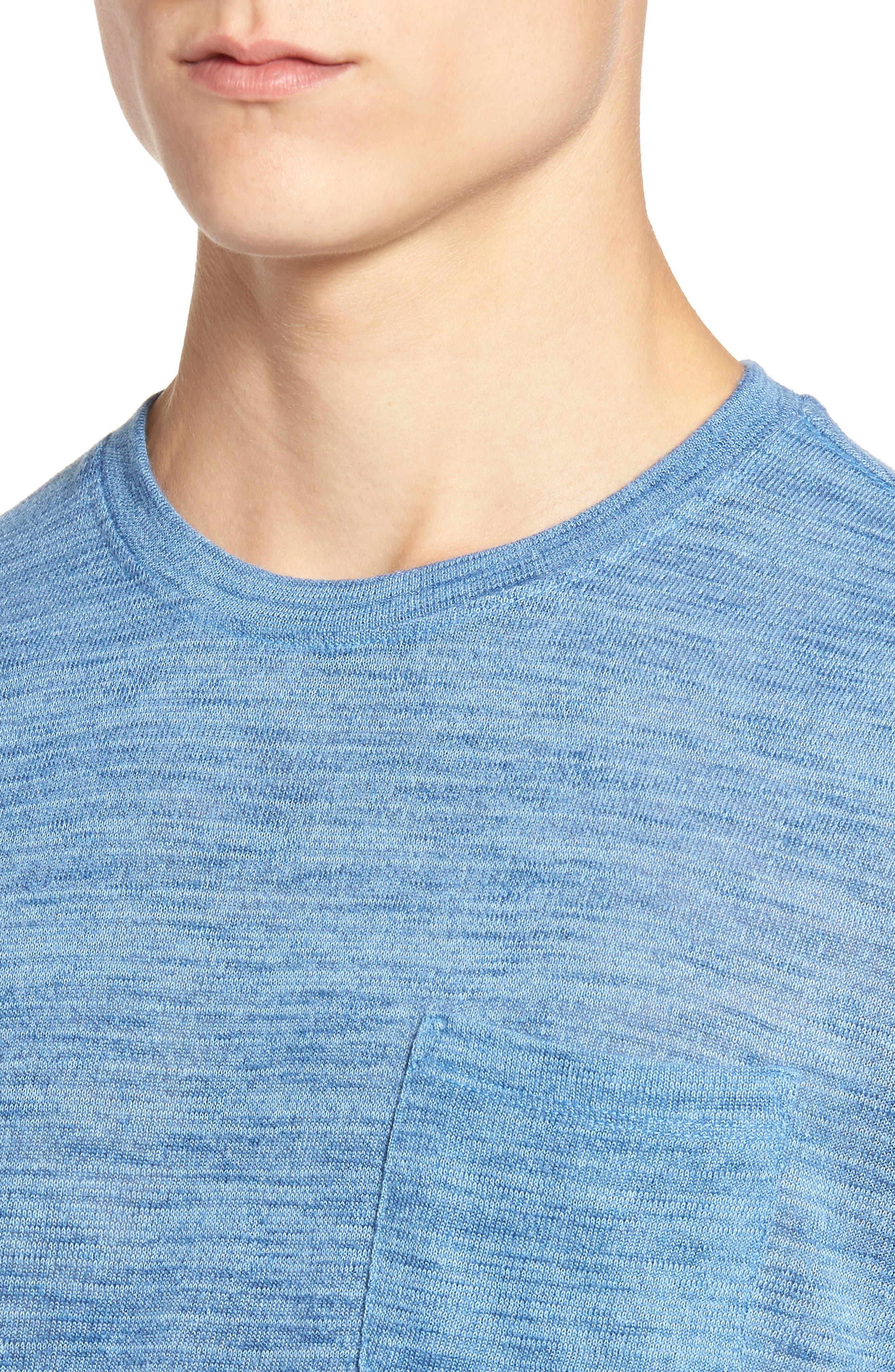 Alternate Image 4  - The Rail Slubbed Pocket T-Shirt