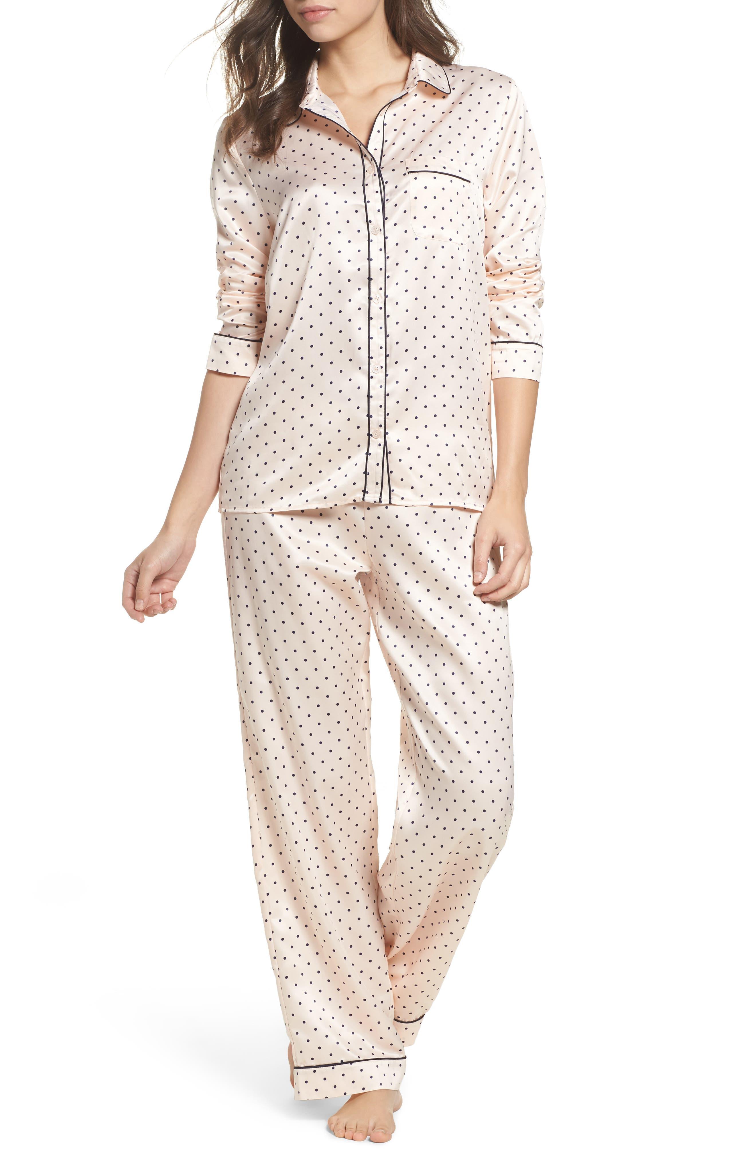 Nordstrom Lingerie Satin Pajamas