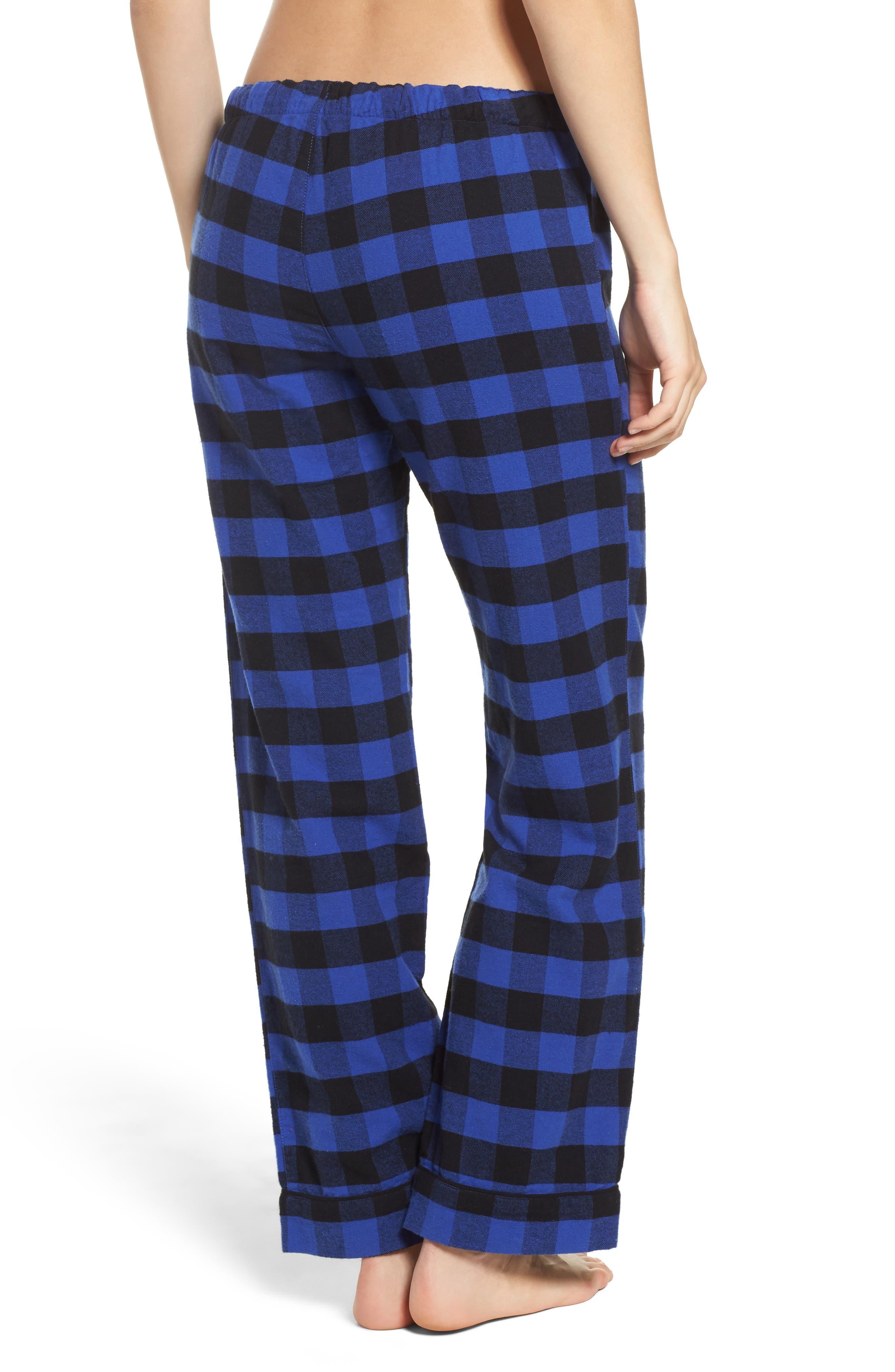 Pajama Pants,                             Alternate thumbnail 2, color,                             Royal