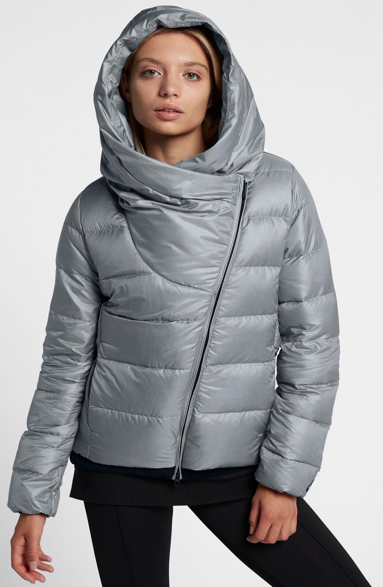 Alternate Image 4  - Nike Sportswear Women's Hooded Down Jacket