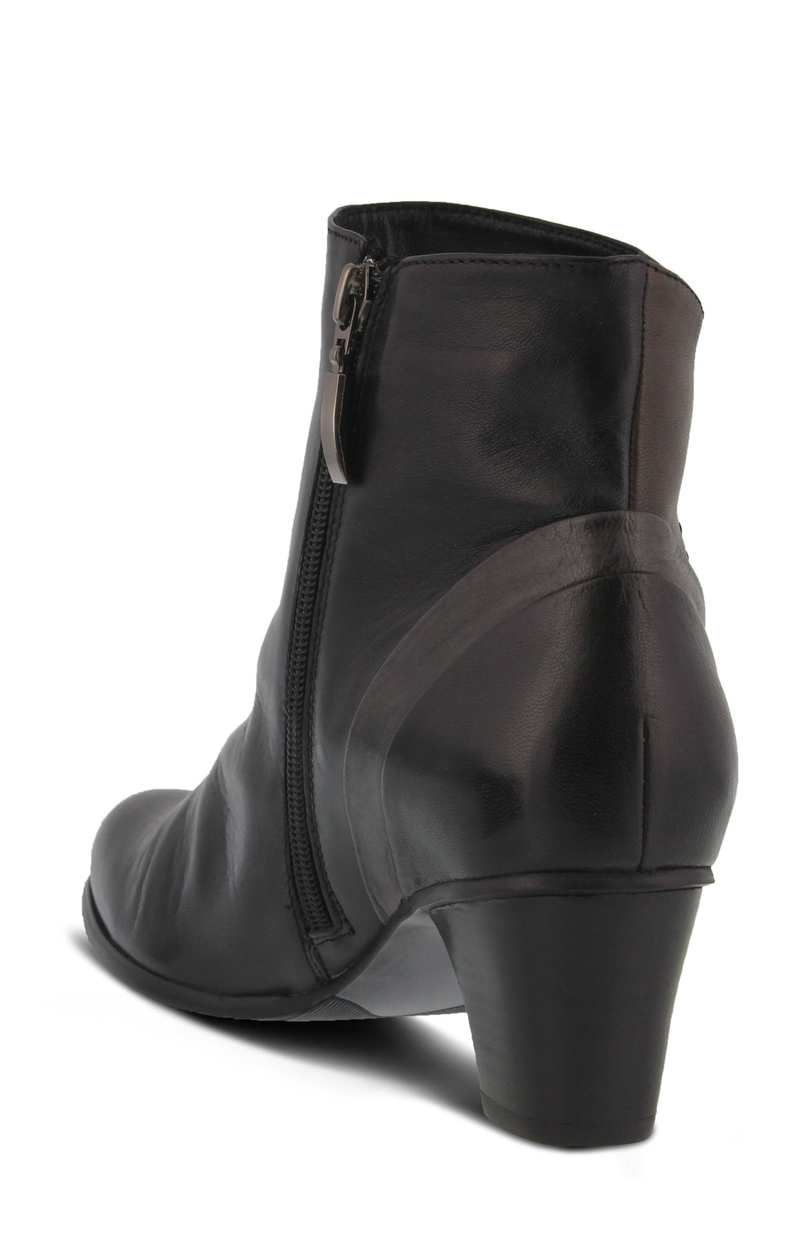 Gaspar Bootie,                             Alternate thumbnail 2, color,                             Black Multi Leather