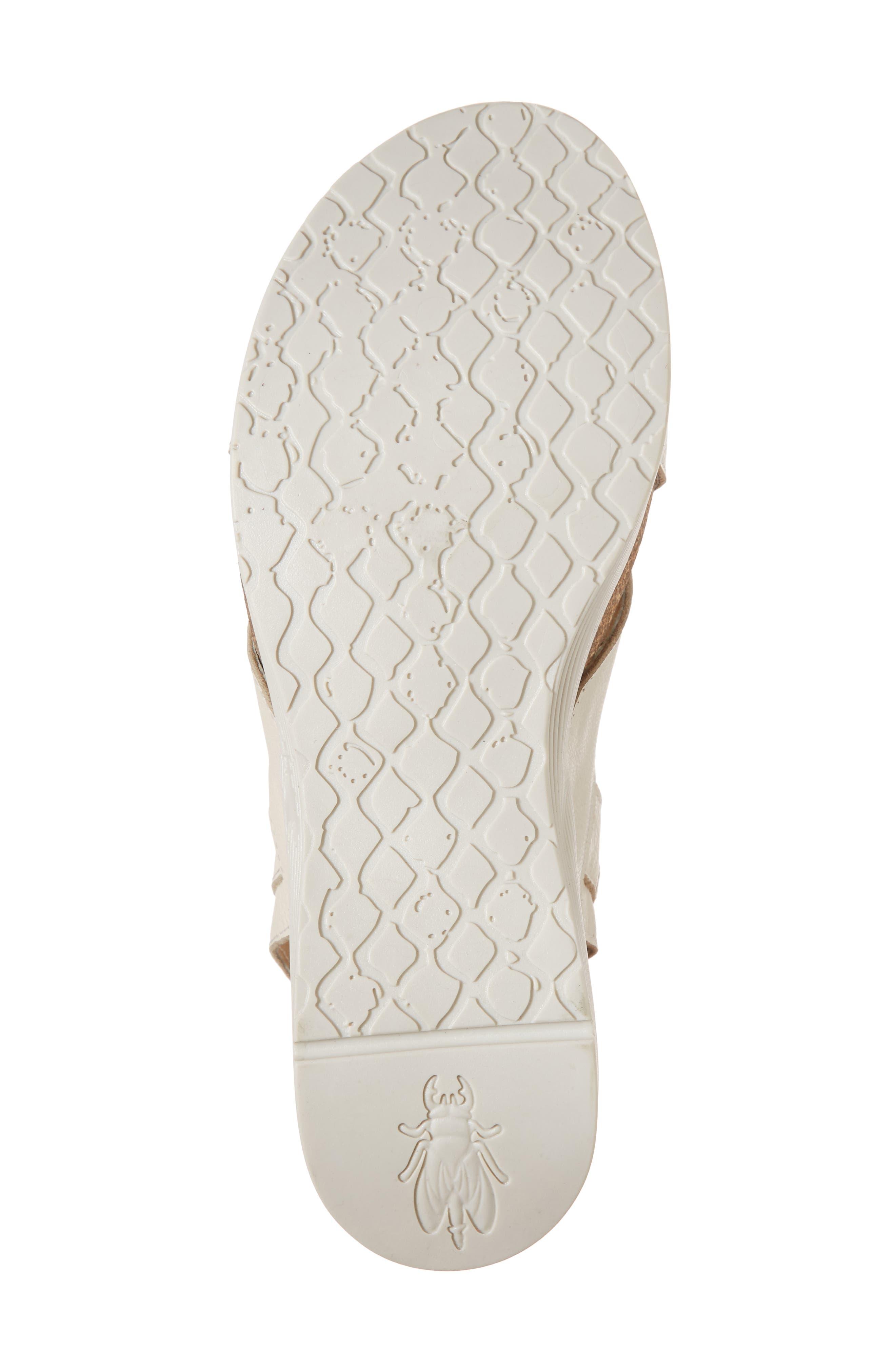 Alternate Image 6  - Fly London Weel Nubuck Leather Platform Sandal (Women)