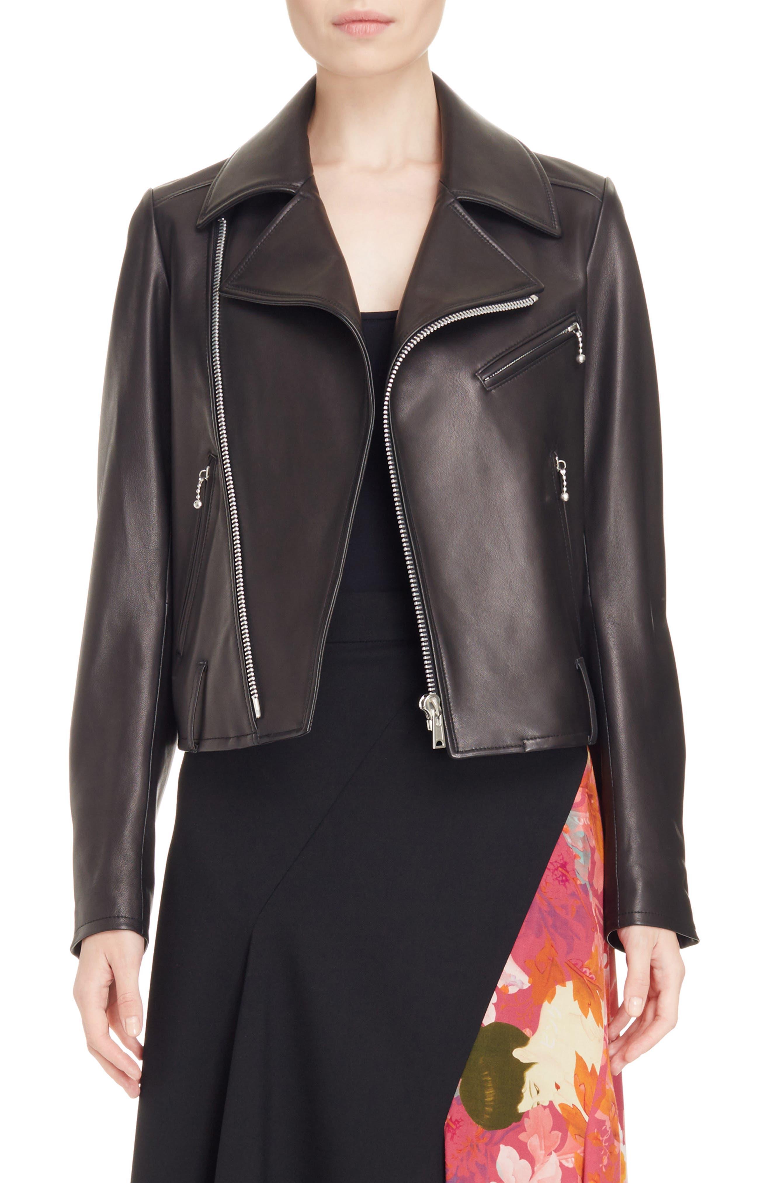 Y's by Yohji Yamamoto Leather Moto Jacket