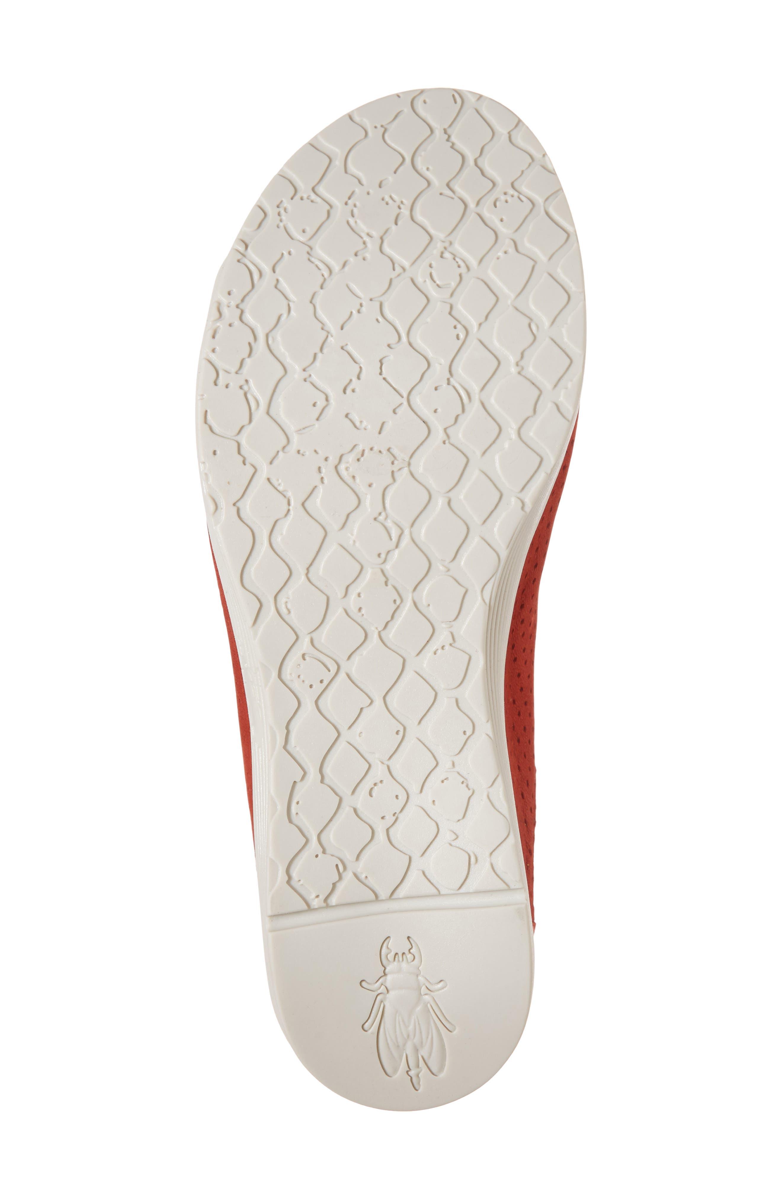Whin Platform Sandal,                             Alternate thumbnail 6, color,                             Scarlet Cupido Leather