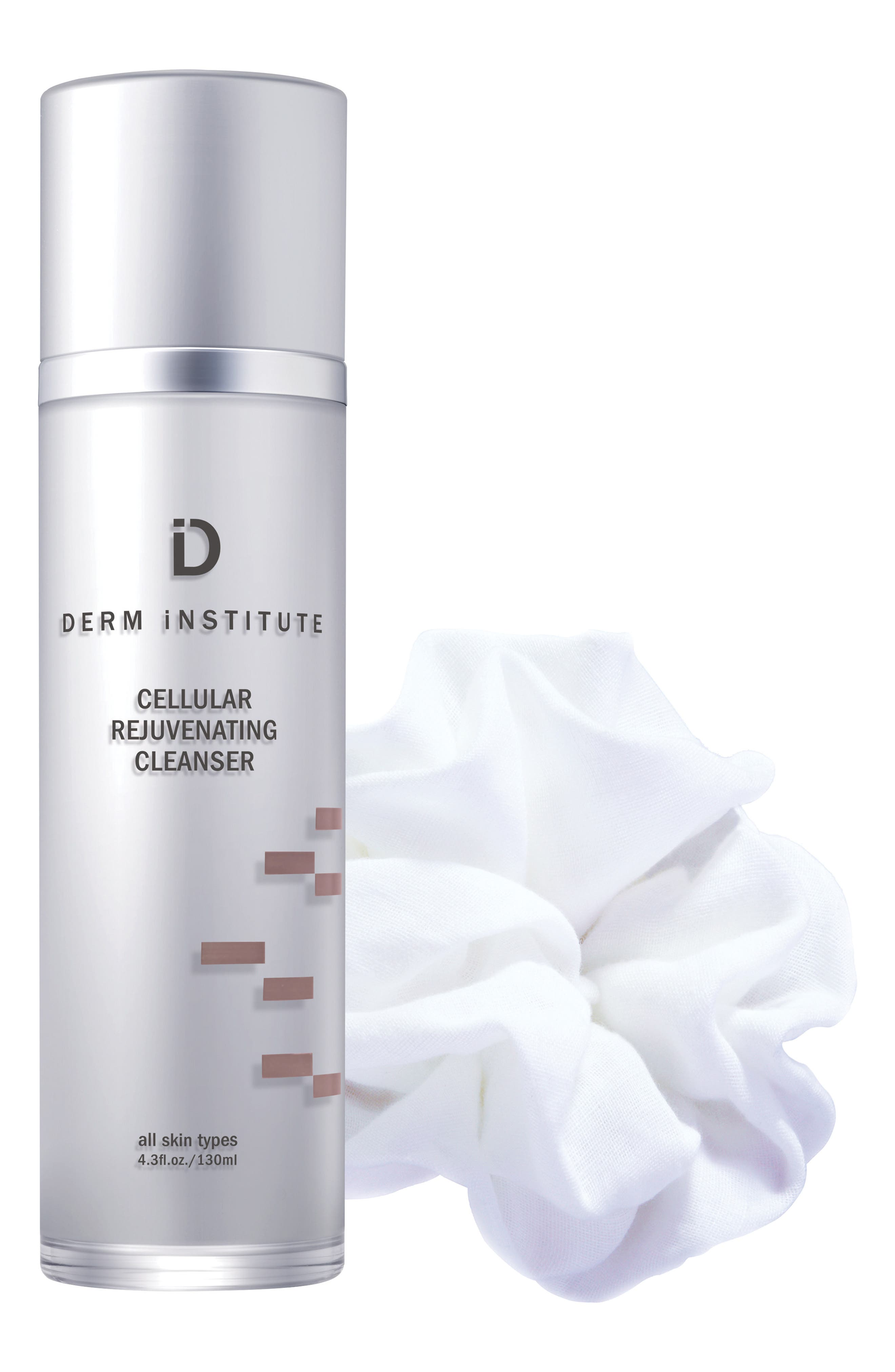 SPACE.NK.apothecary Derm Institute Cellular Rejuvenating Cleanser & Muslin Cloth,                         Main,                         color, No Color