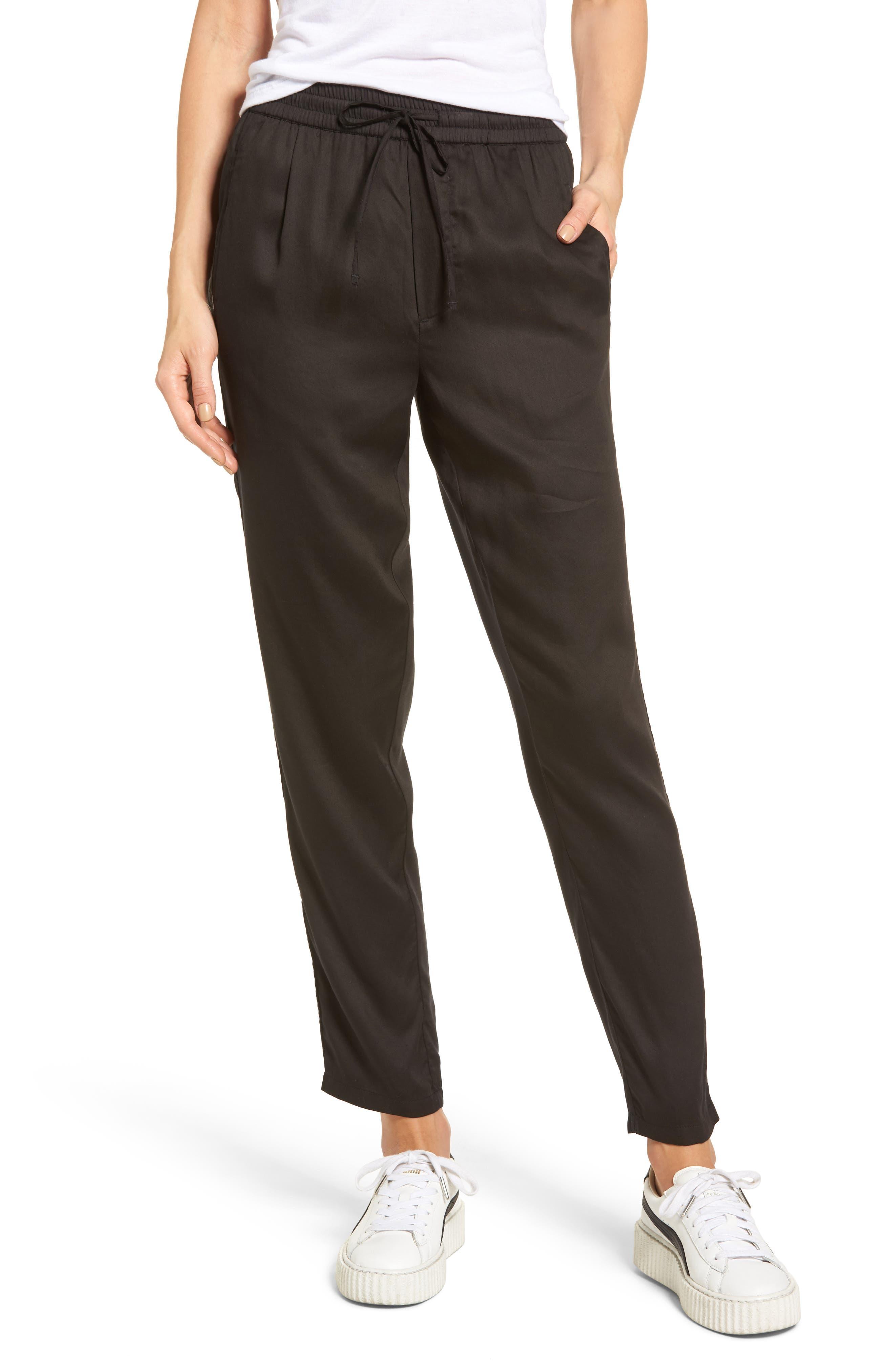Alternate Image 1 Selected - Obey Savoy Satin Pants