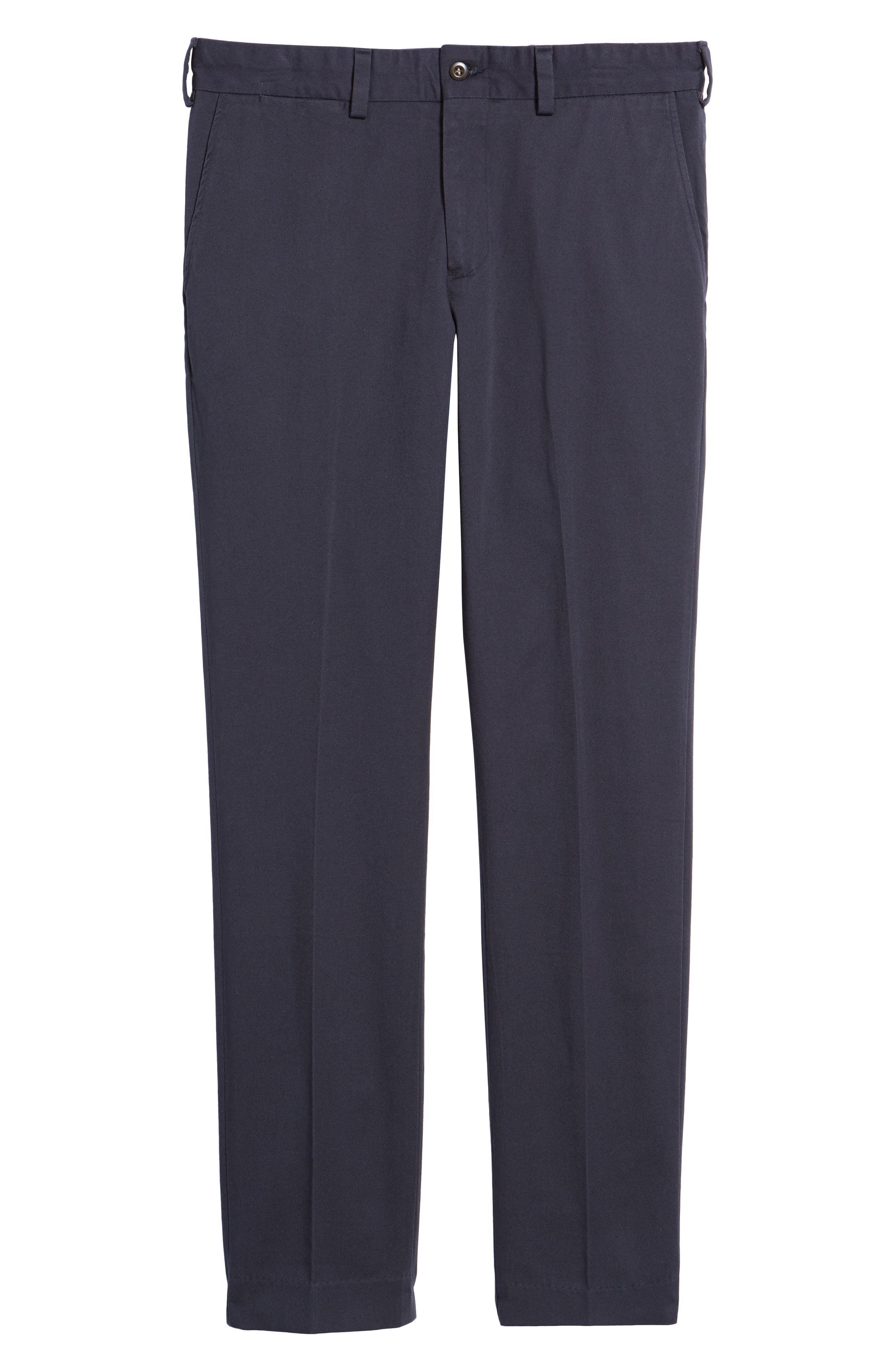 Slim Fit Original Twill Pants,                             Alternate thumbnail 6, color,                             Navy