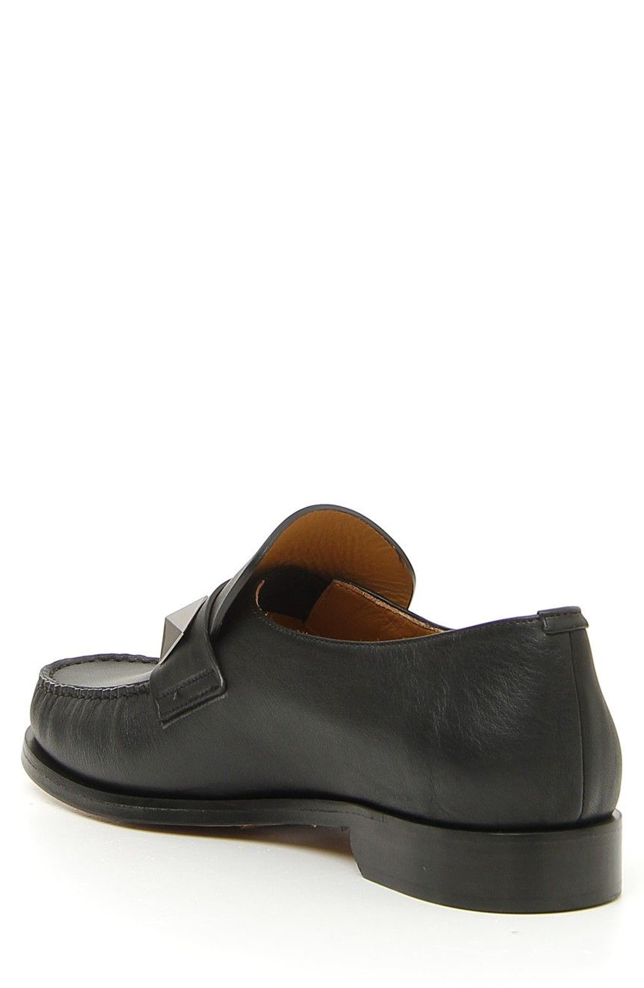 Lock Loafer,                             Alternate thumbnail 2, color,                             Black