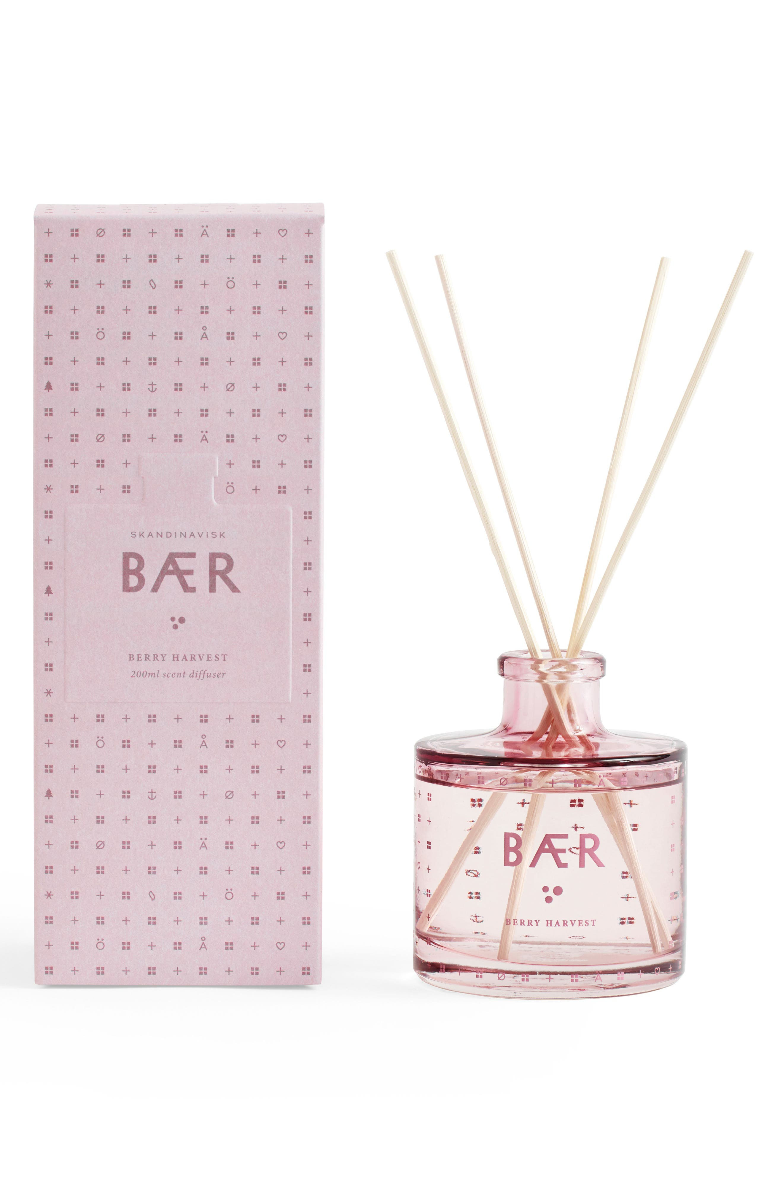Reed Diffuser,                             Main thumbnail 1, color,                             Berry Harvest