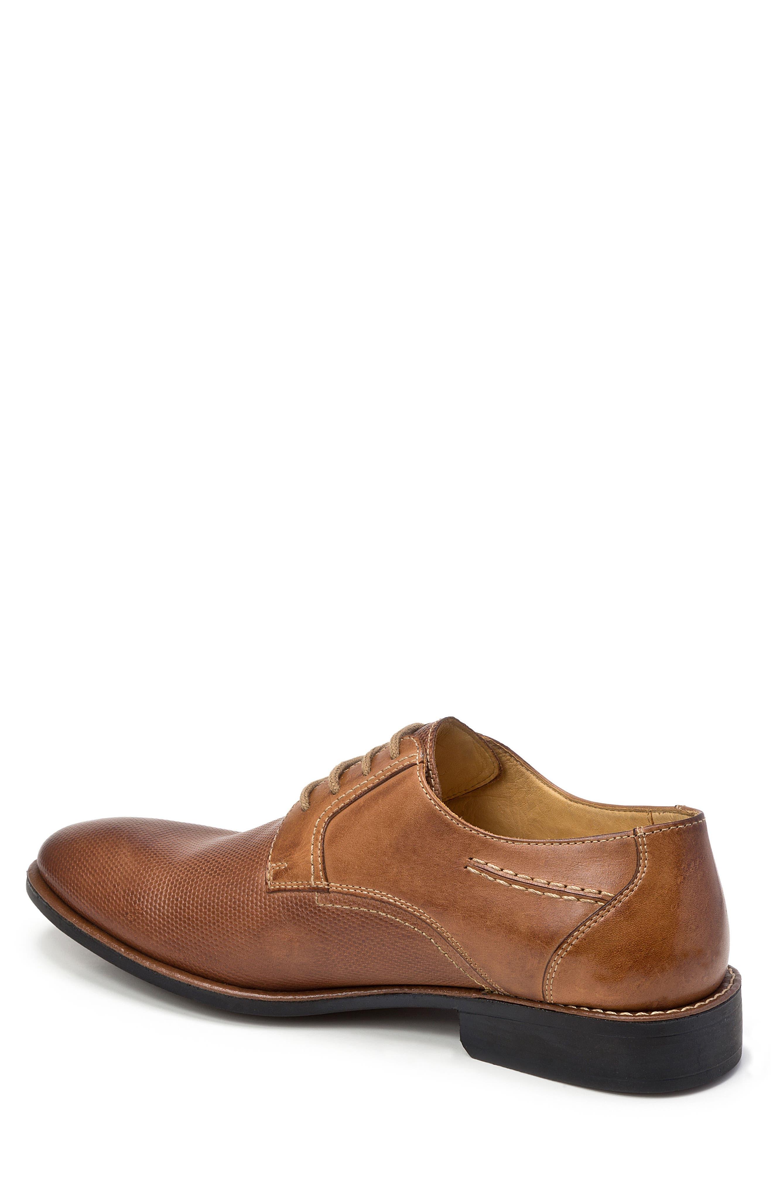 Trenso Plain Toe Derby,                             Alternate thumbnail 2, color,                             Tan Leather
