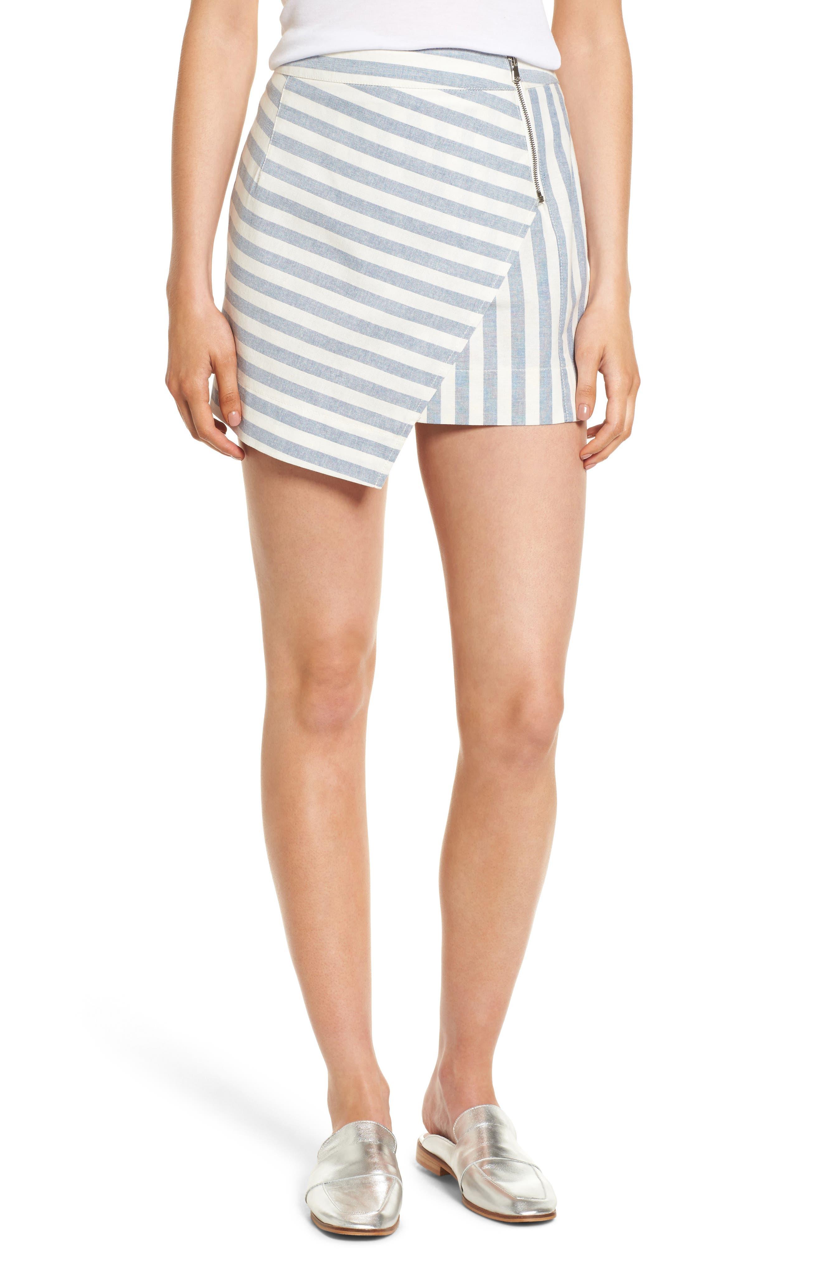 Gigi Wrap Skirt,                         Main,                         color, Stripe