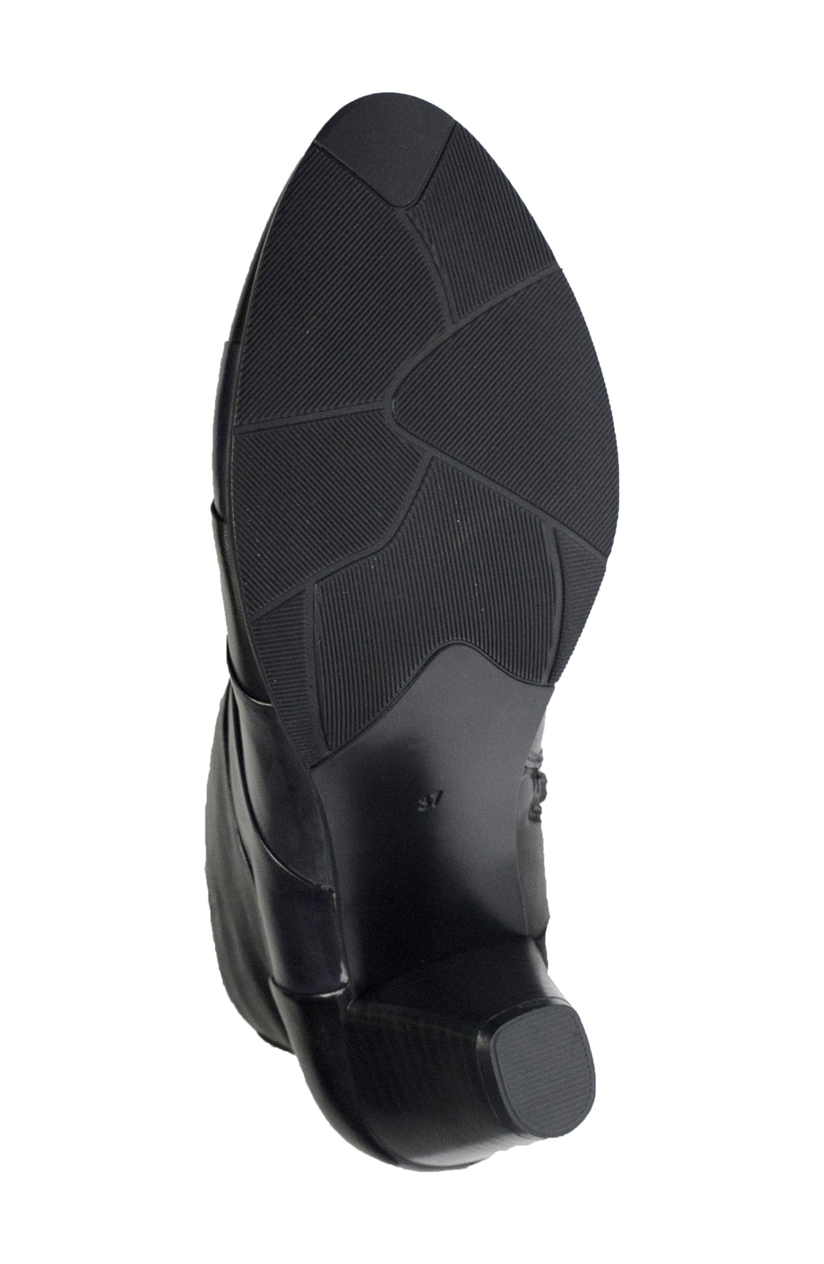 Binzo Bootie,                             Alternate thumbnail 5, color,                             Black Multi Leather