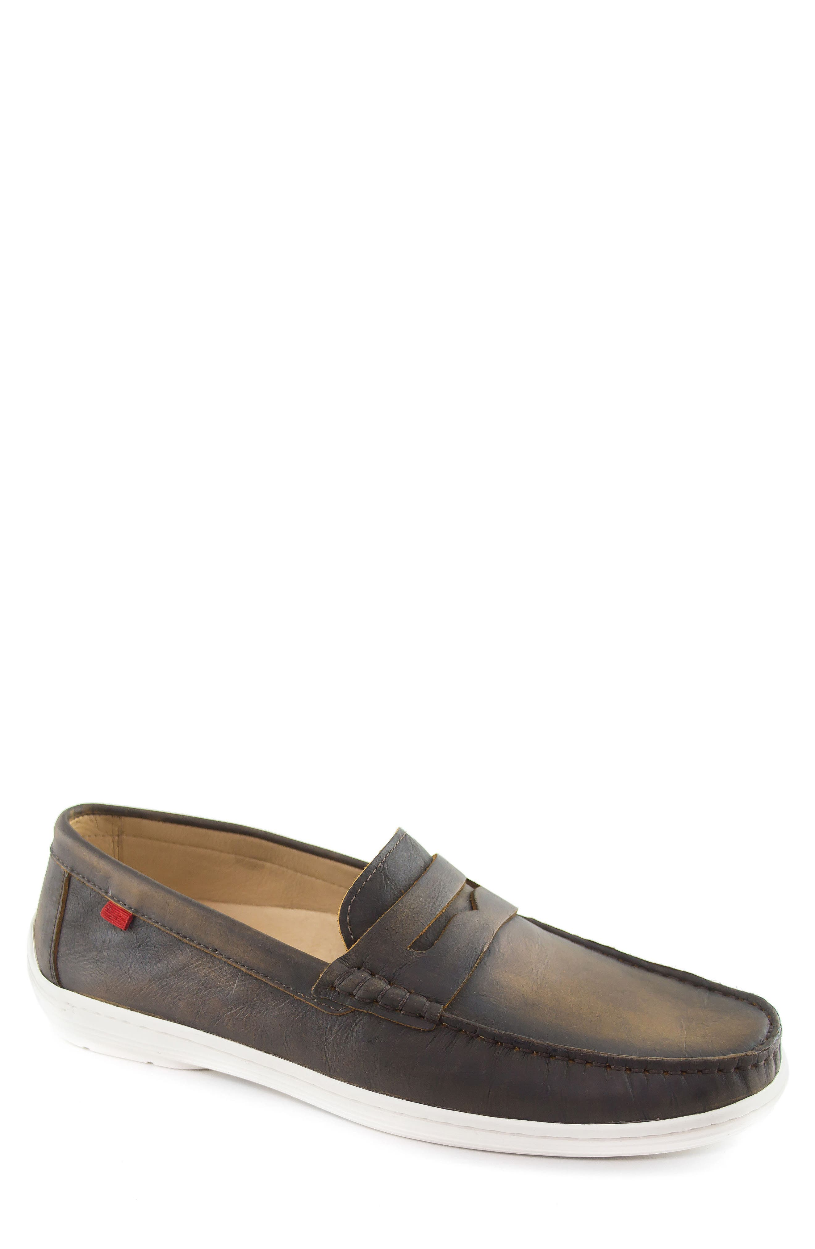 Atlantic Penny Loafer,                             Main thumbnail 1, color,                             Cafe Washed