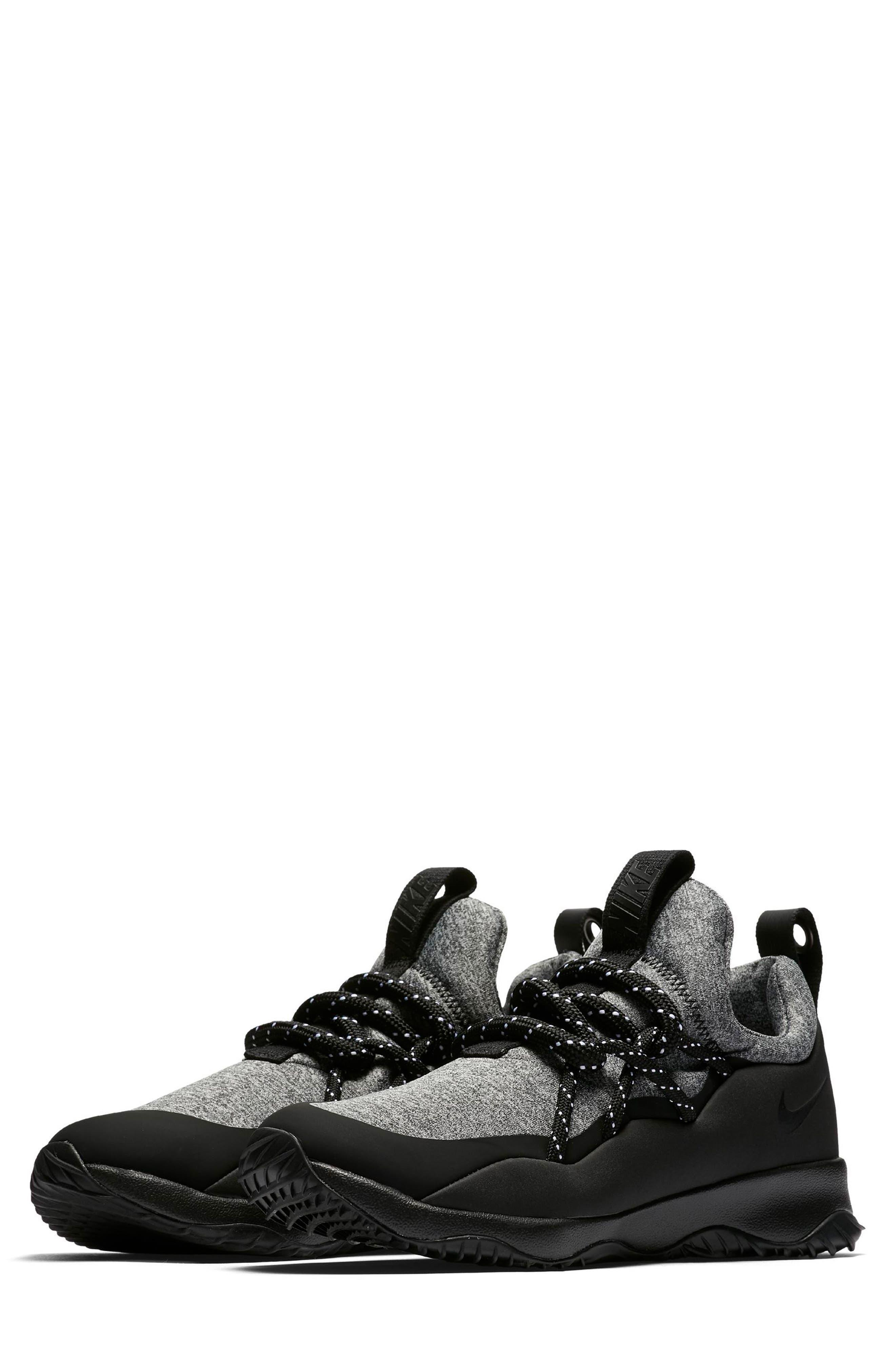 City Loop Sneaker,                         Main,                         color, Black/ Black/ White