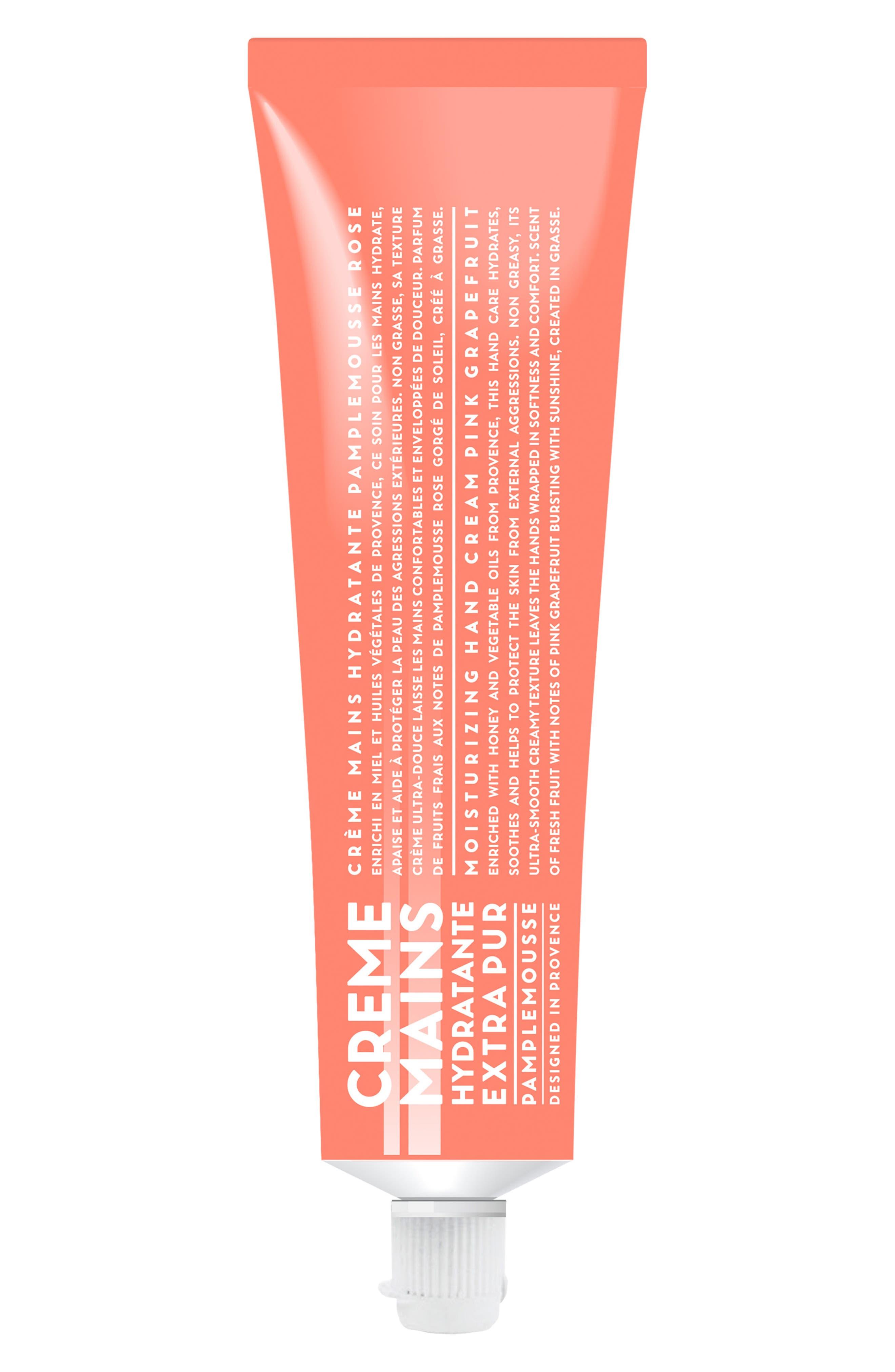 Pink Grapefruit Moisturizing Hand Cream,                         Main,                         color, No Color