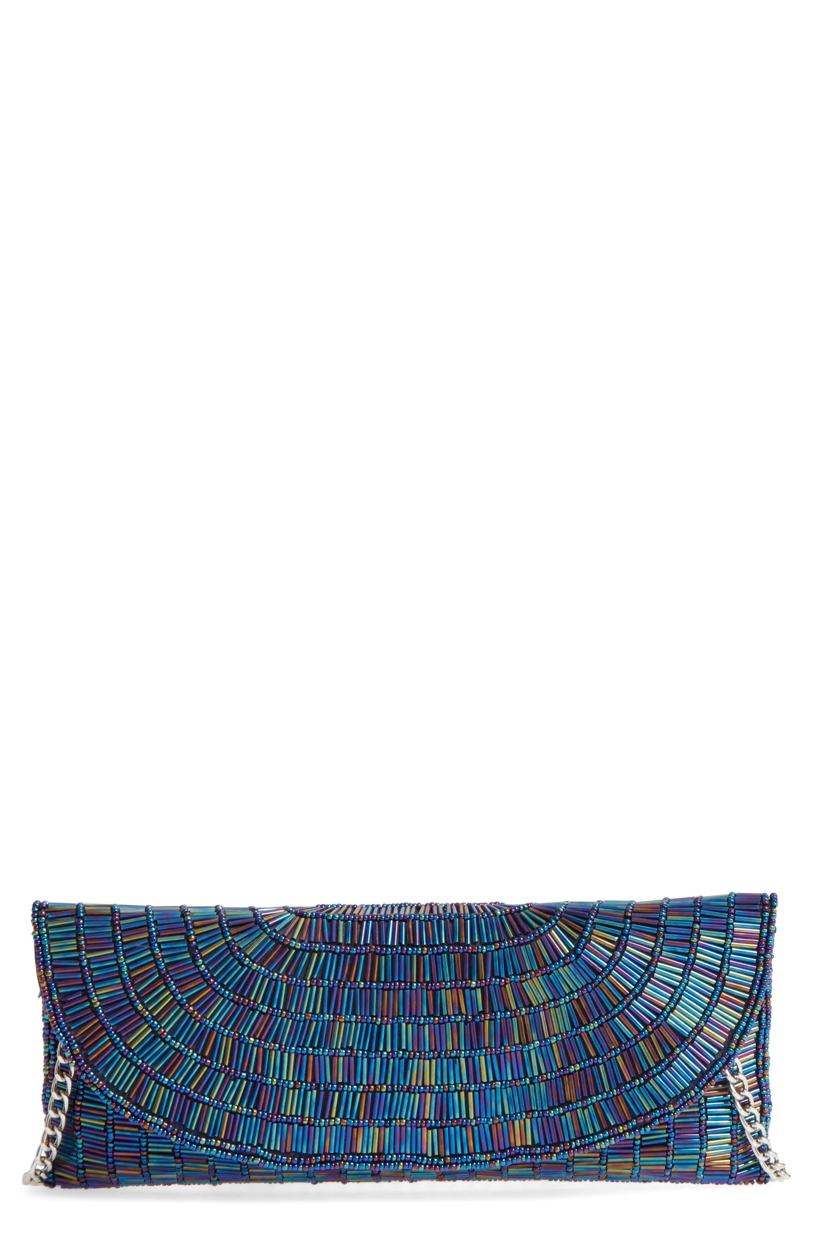 Nina Denelle Beaded Clutch
