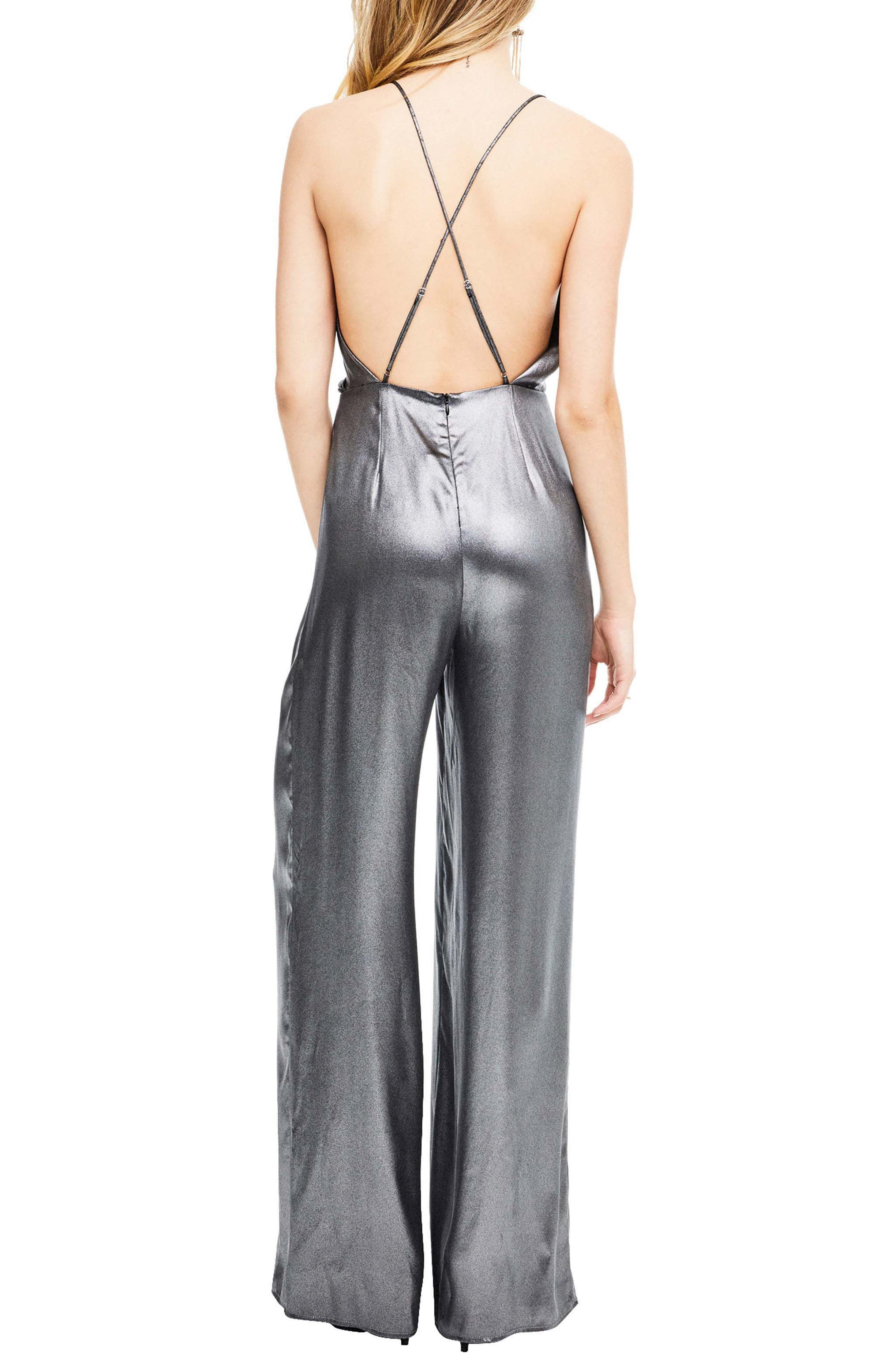 Winona Jumpsuit,                             Alternate thumbnail 2, color,                             Gunmetal