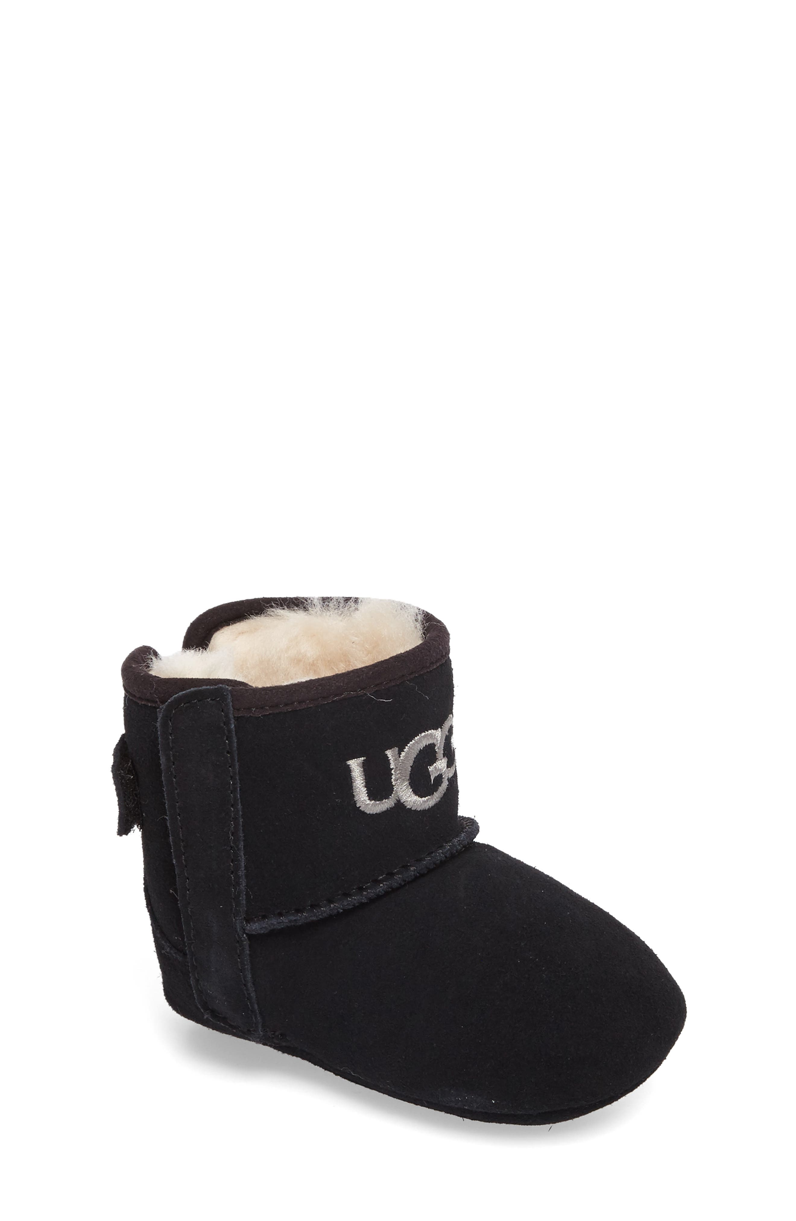 Alternate Image 1 Selected - UGG® Jesse II Bow Boot (Baby & Walker)