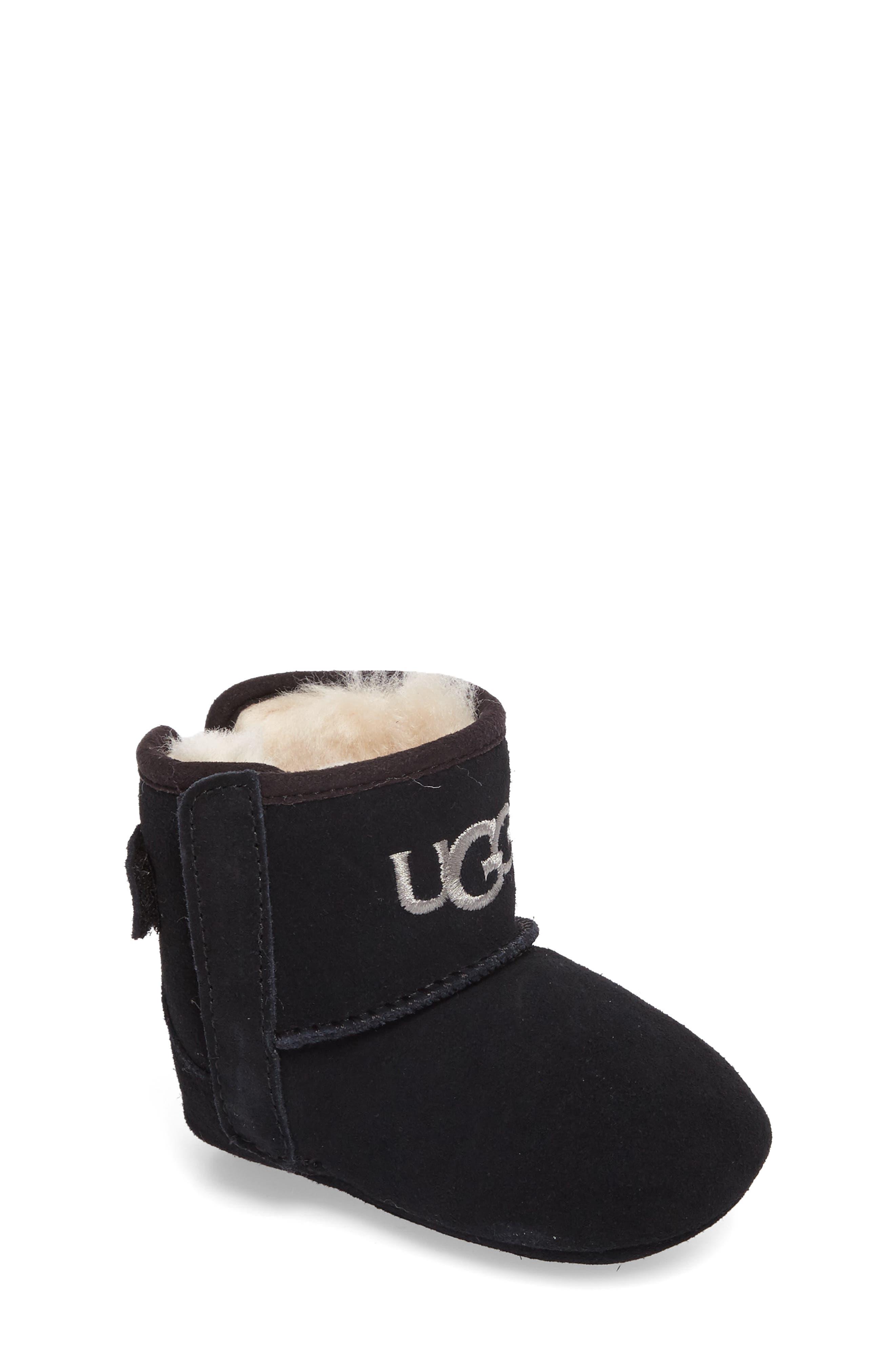 Main Image - UGG® Jesse II Bow Boot (Baby & Walker)