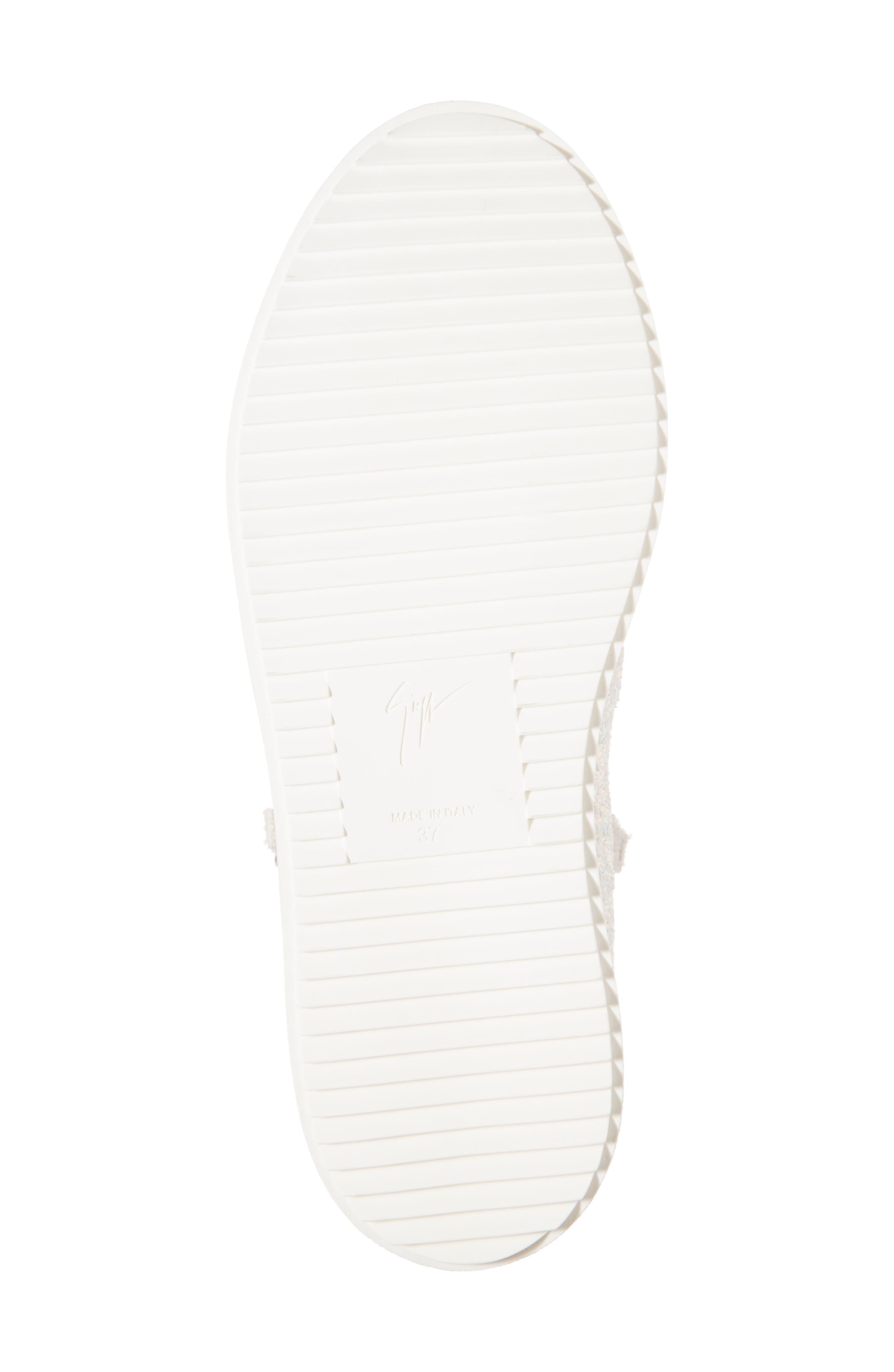 Alternate Image 6  - Giuseppe Zanotti May London High Top Sneaker (Women)
