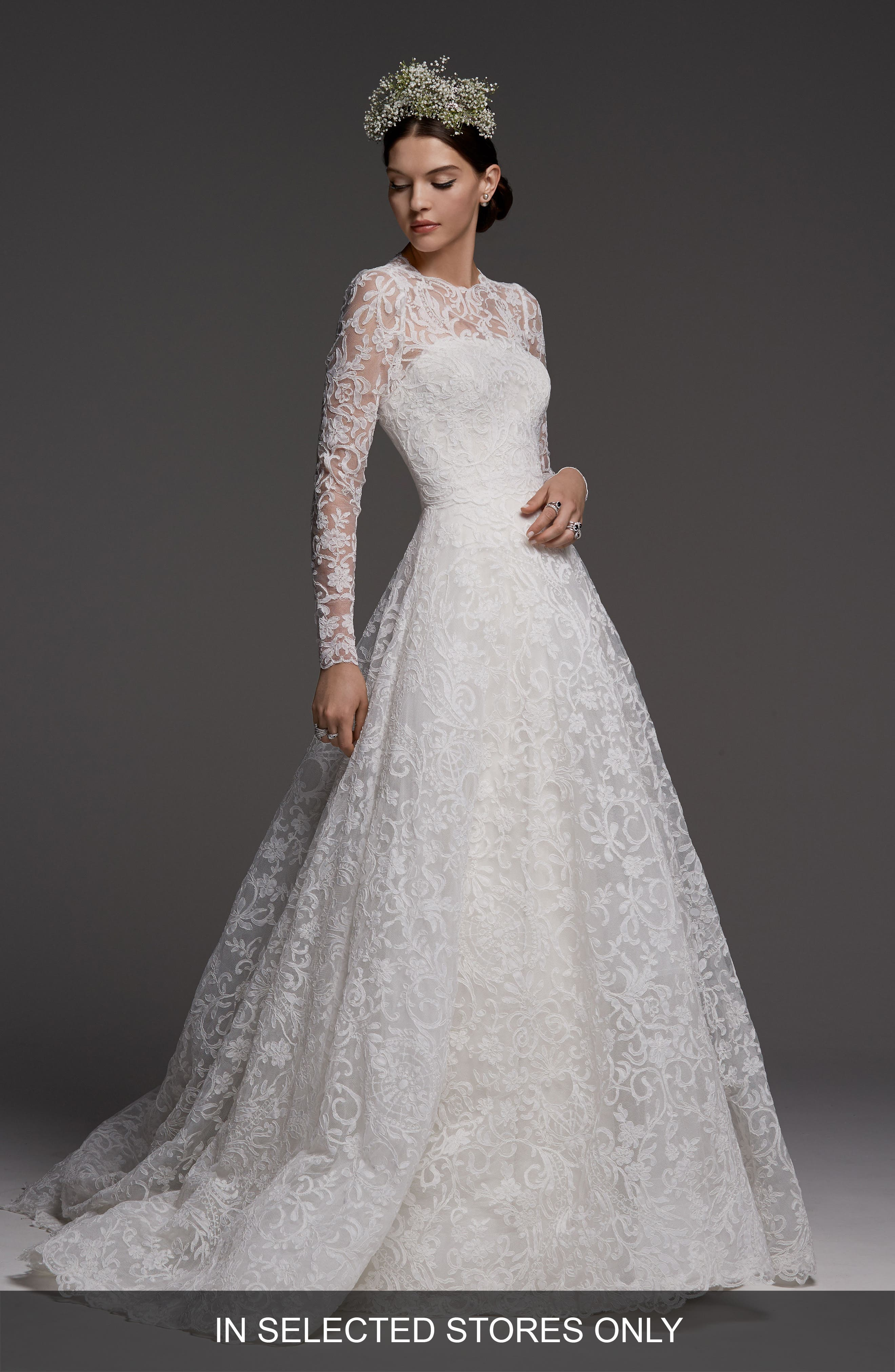 Main Image - Watters Wales Lace Topper