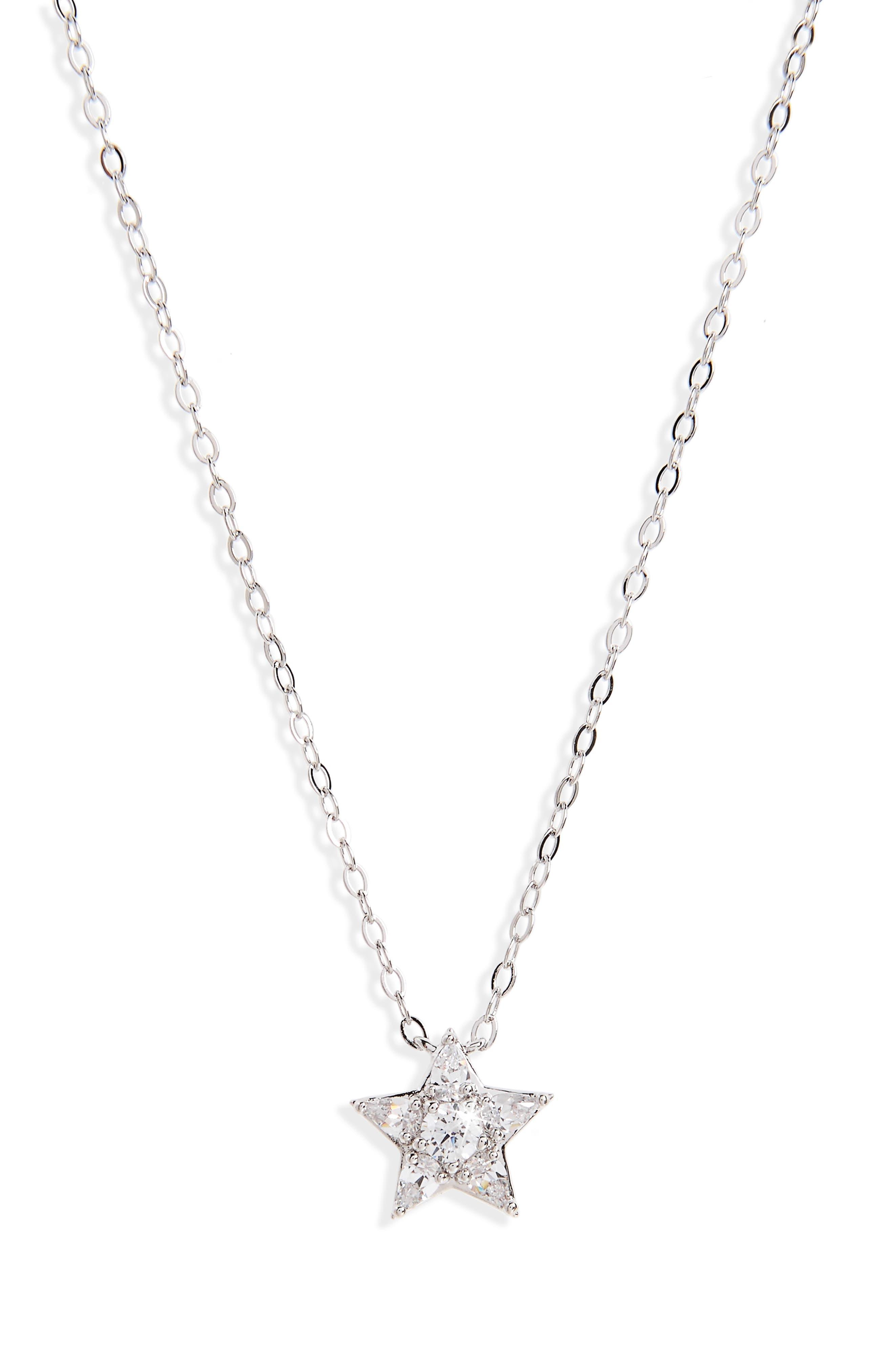 Nadri Reminisce Star Pendant Necklace