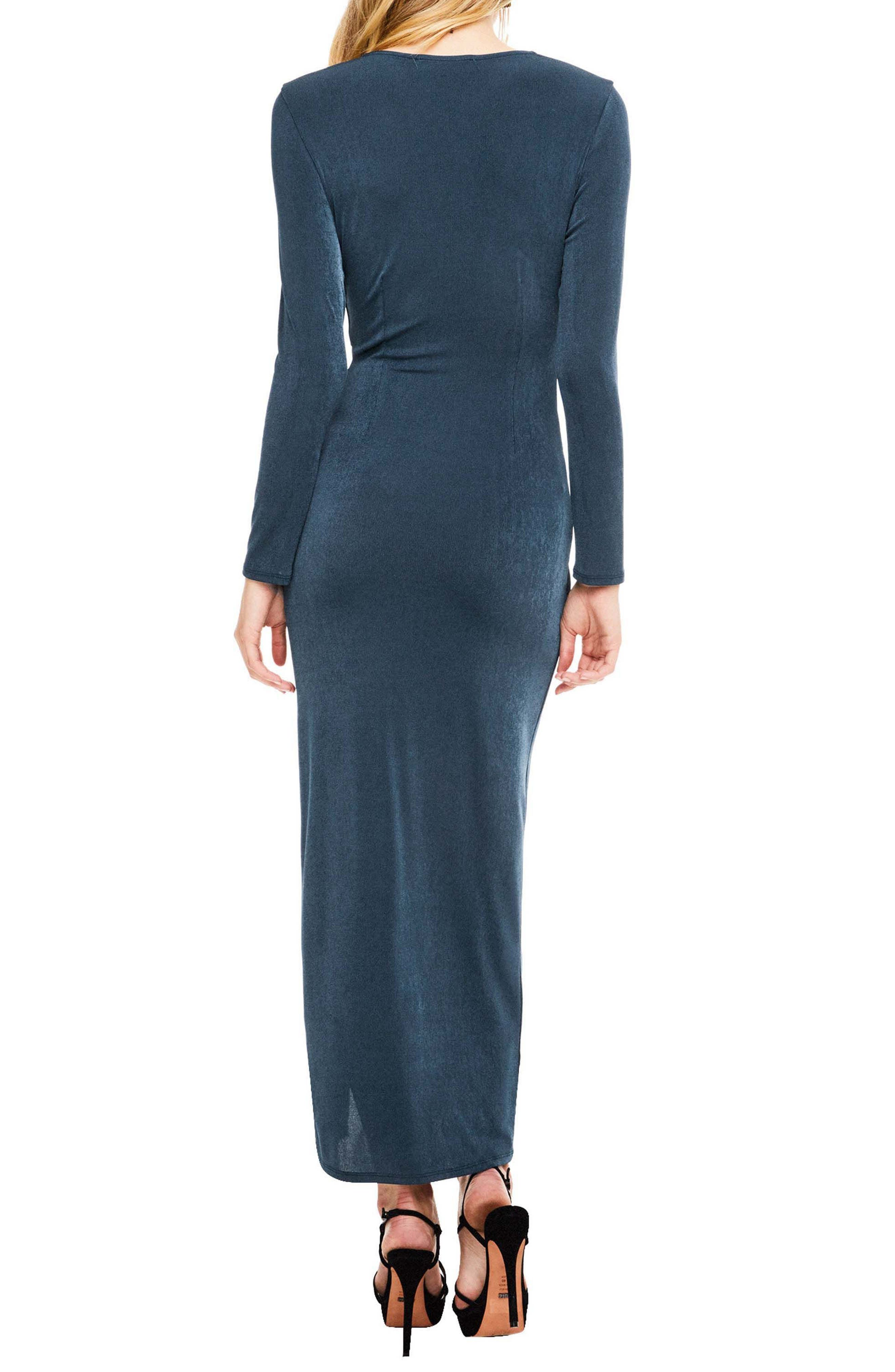 Alternate Image 2  - ASTR the Label Valerie Faux Wrap Dress