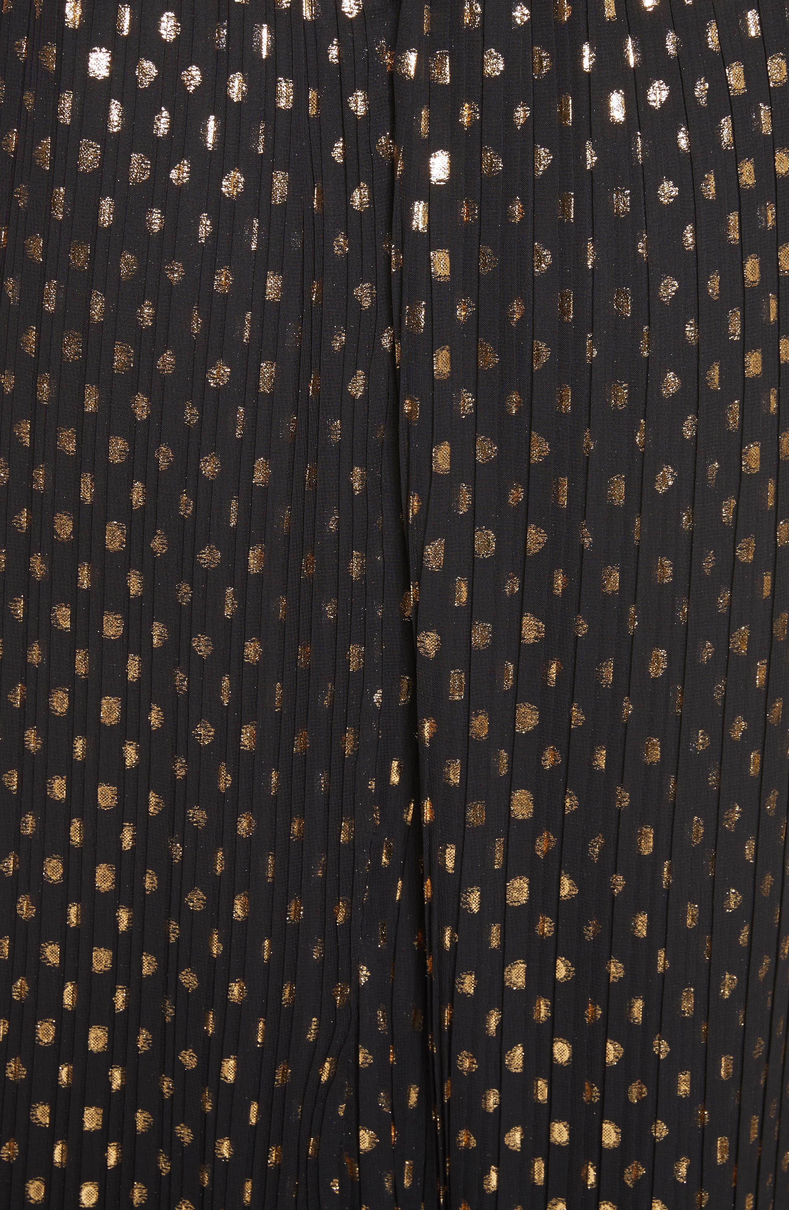 Alternate Image 5  - The Kooples Polka Dot Off the Shoulder Maxi Dress