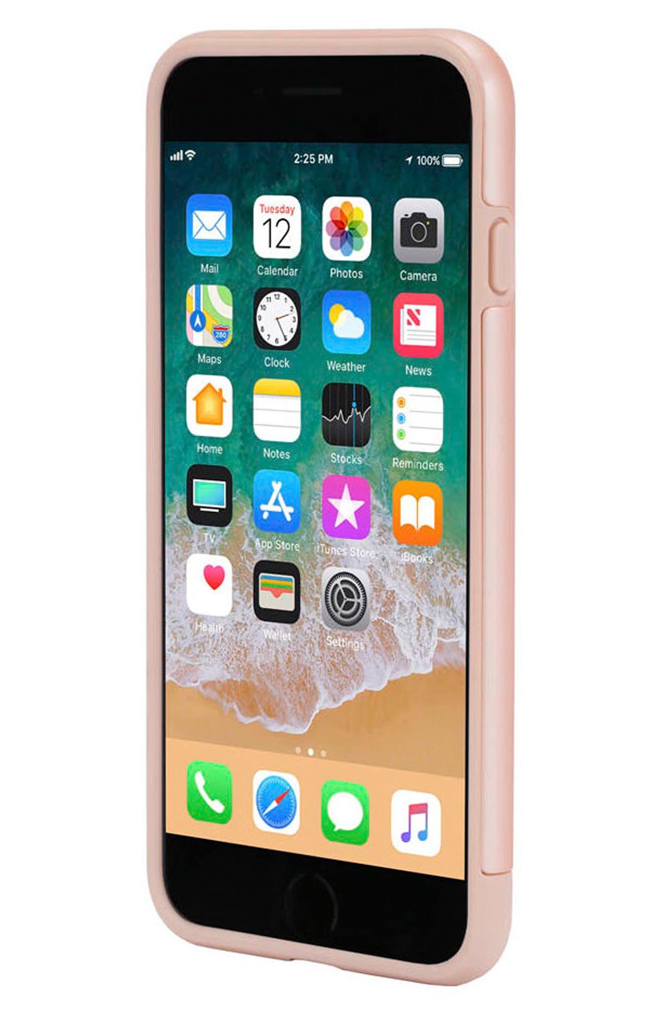 Dual Snap Case for iPhone 7 Plus/8 Plus,                             Alternate thumbnail 3, color,                             Rose Gold