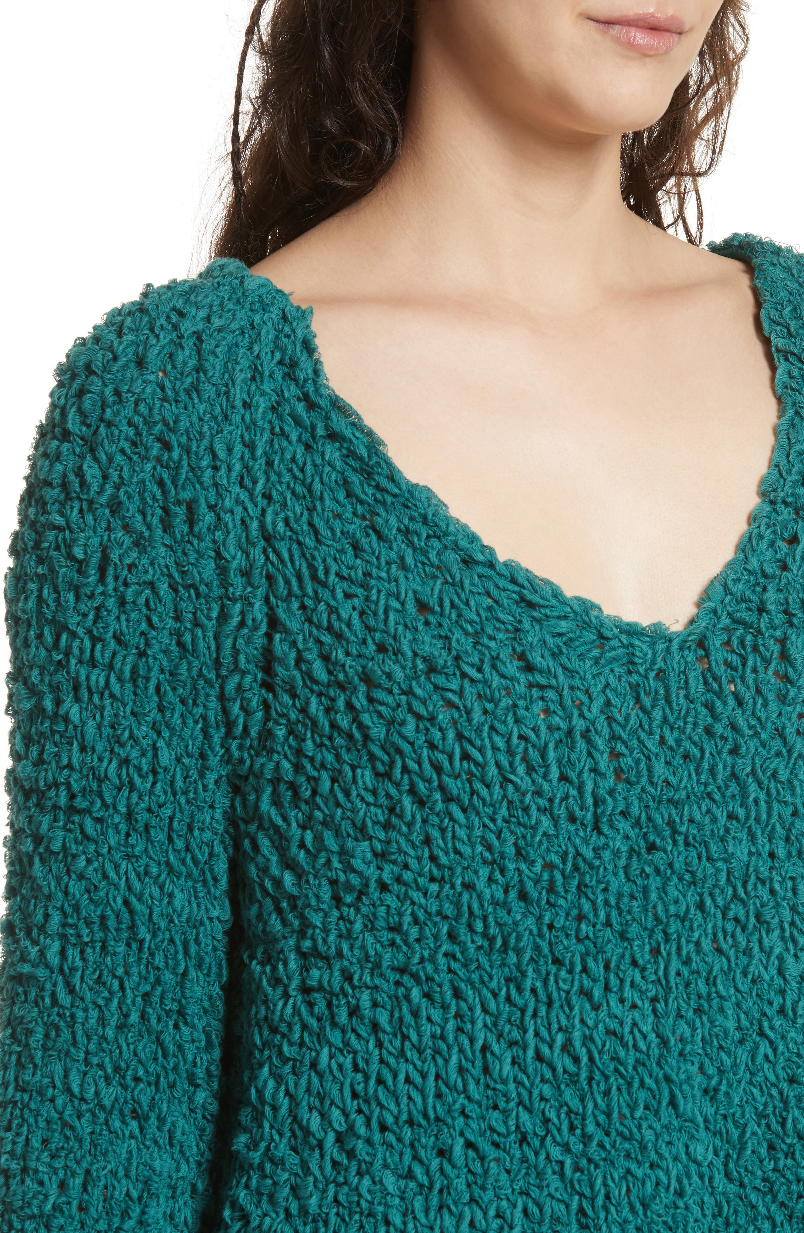 Sand Dune Sweater,                             Alternate thumbnail 4, color,                             Green