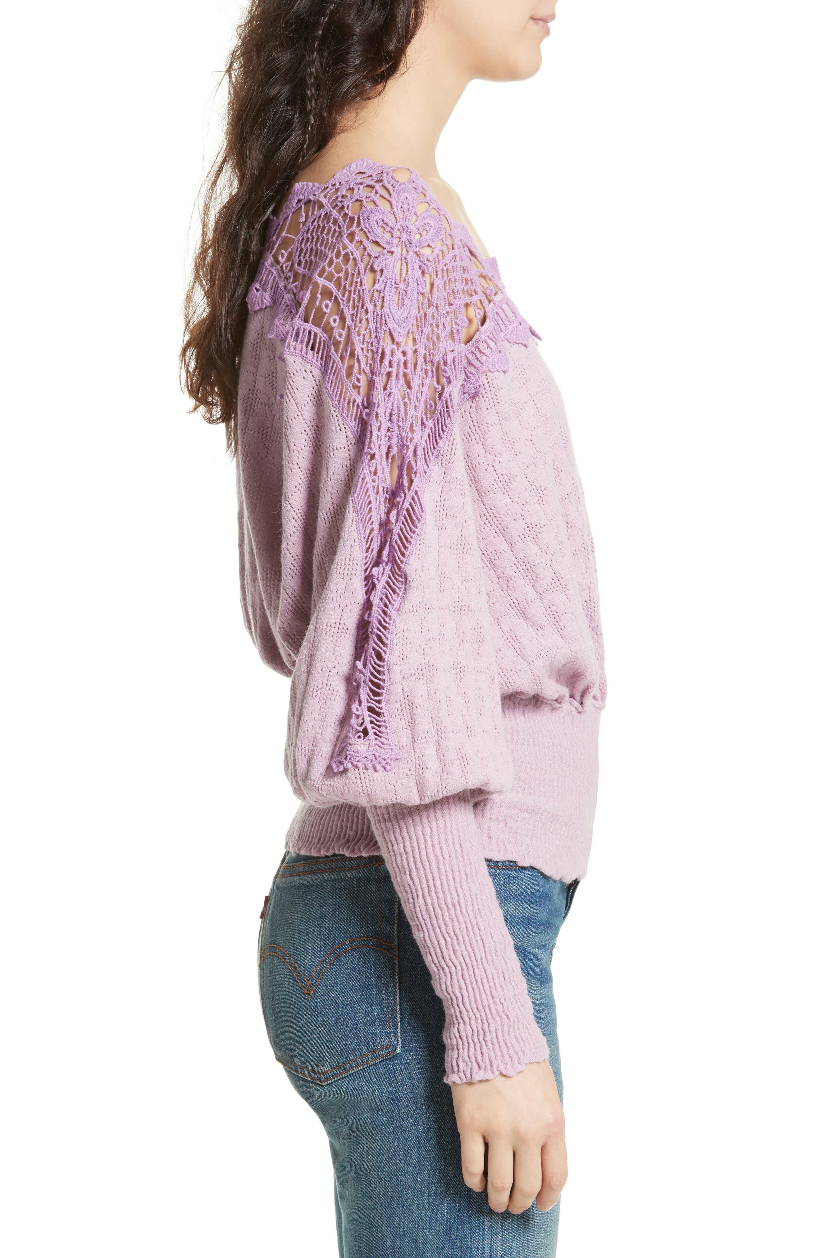Alternate Image 3  - Free People Love Lace Sweater