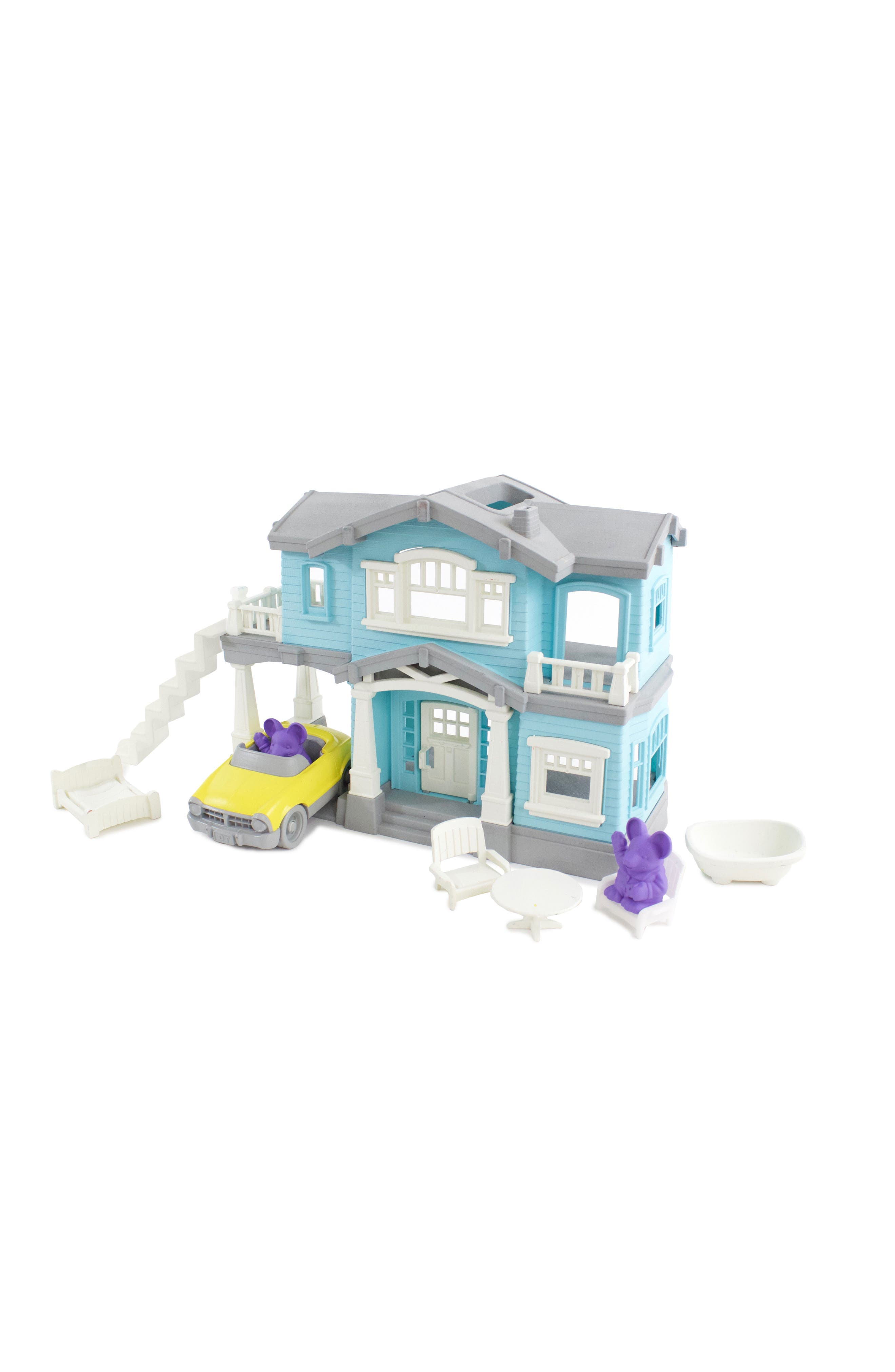 Alternate Image 6  - Green Toys 10-Piece House Play Set