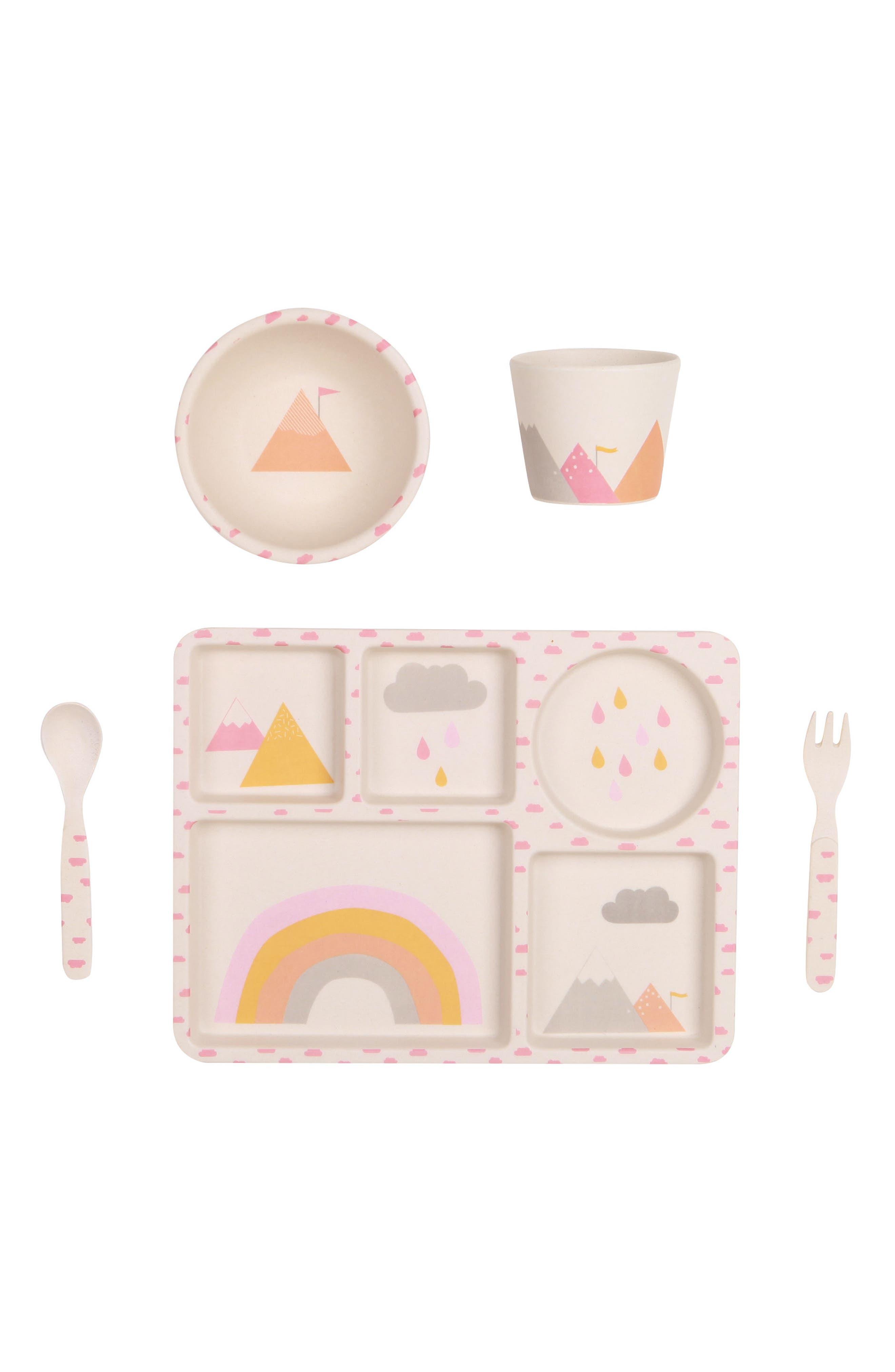 Main Image - Love Mae 5-Piece Dinnerware Set