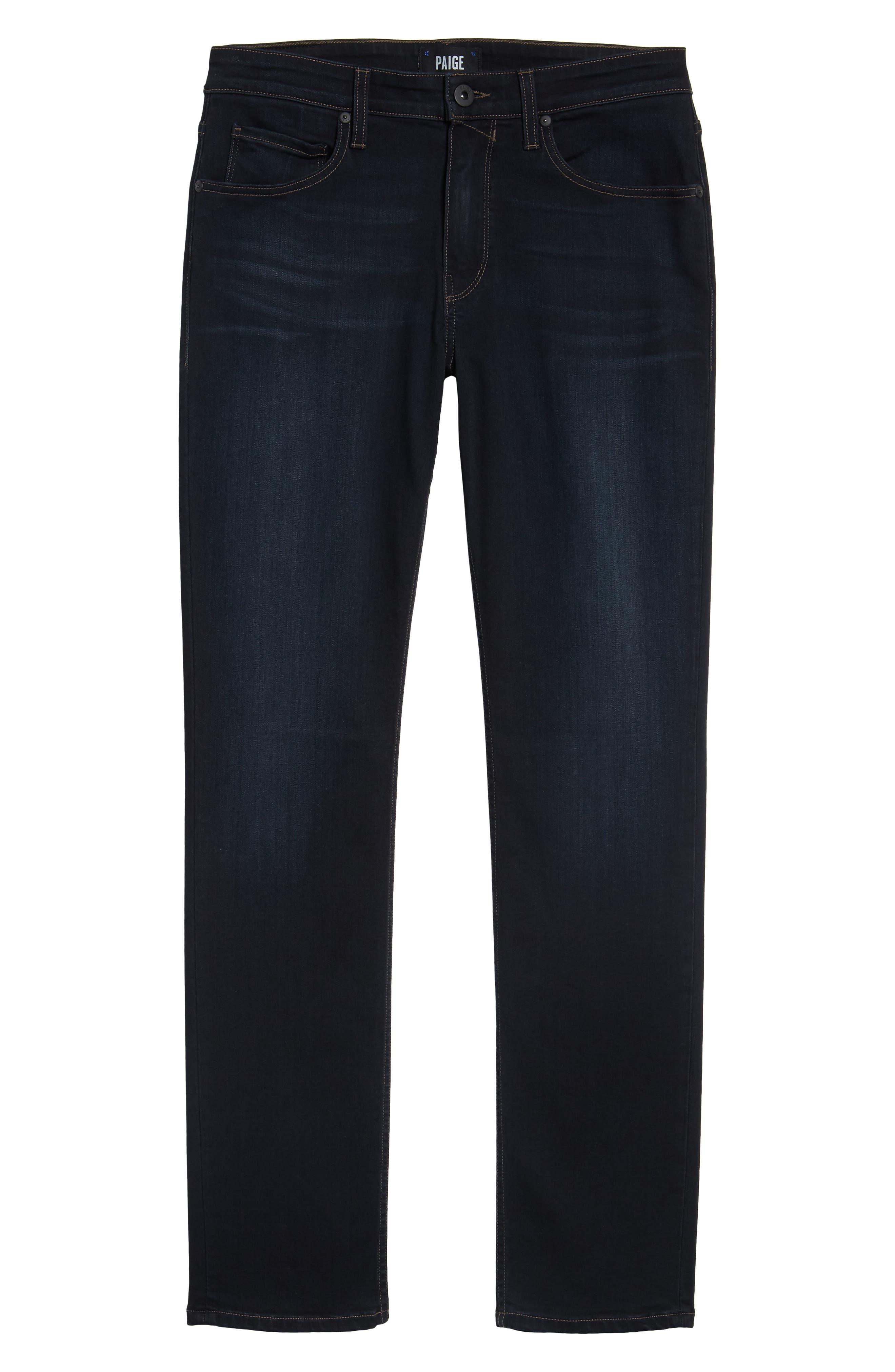 Alternate Image 6  - PAIGE Transcend - Lennox Slim Fit Jeans (Rafter)