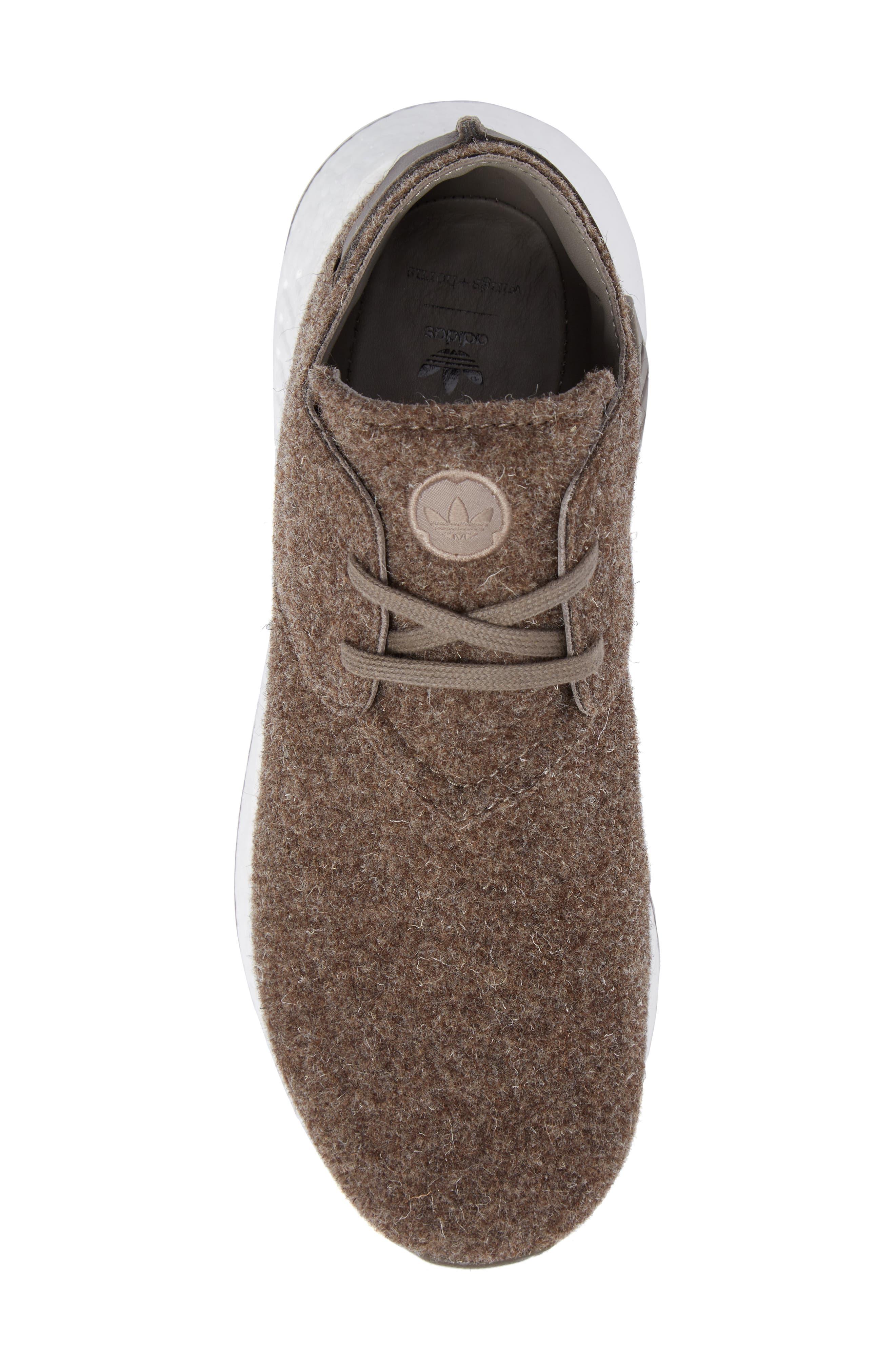 NMD C2 Sneaker (Men0,                             Alternate thumbnail 5, color,                             Simple Brown/ Gum