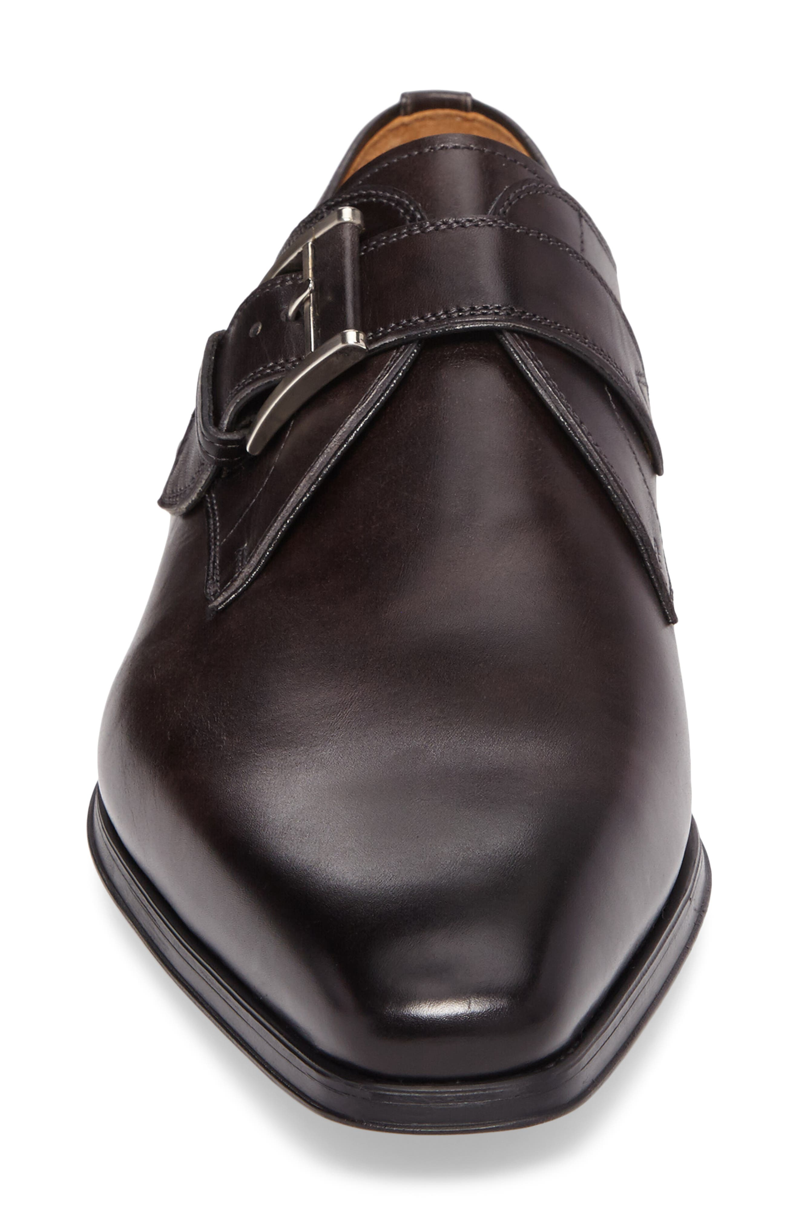 Alternate Image 4  - Magnanni 'Hugo' Monk Strap Slip-On (Men)