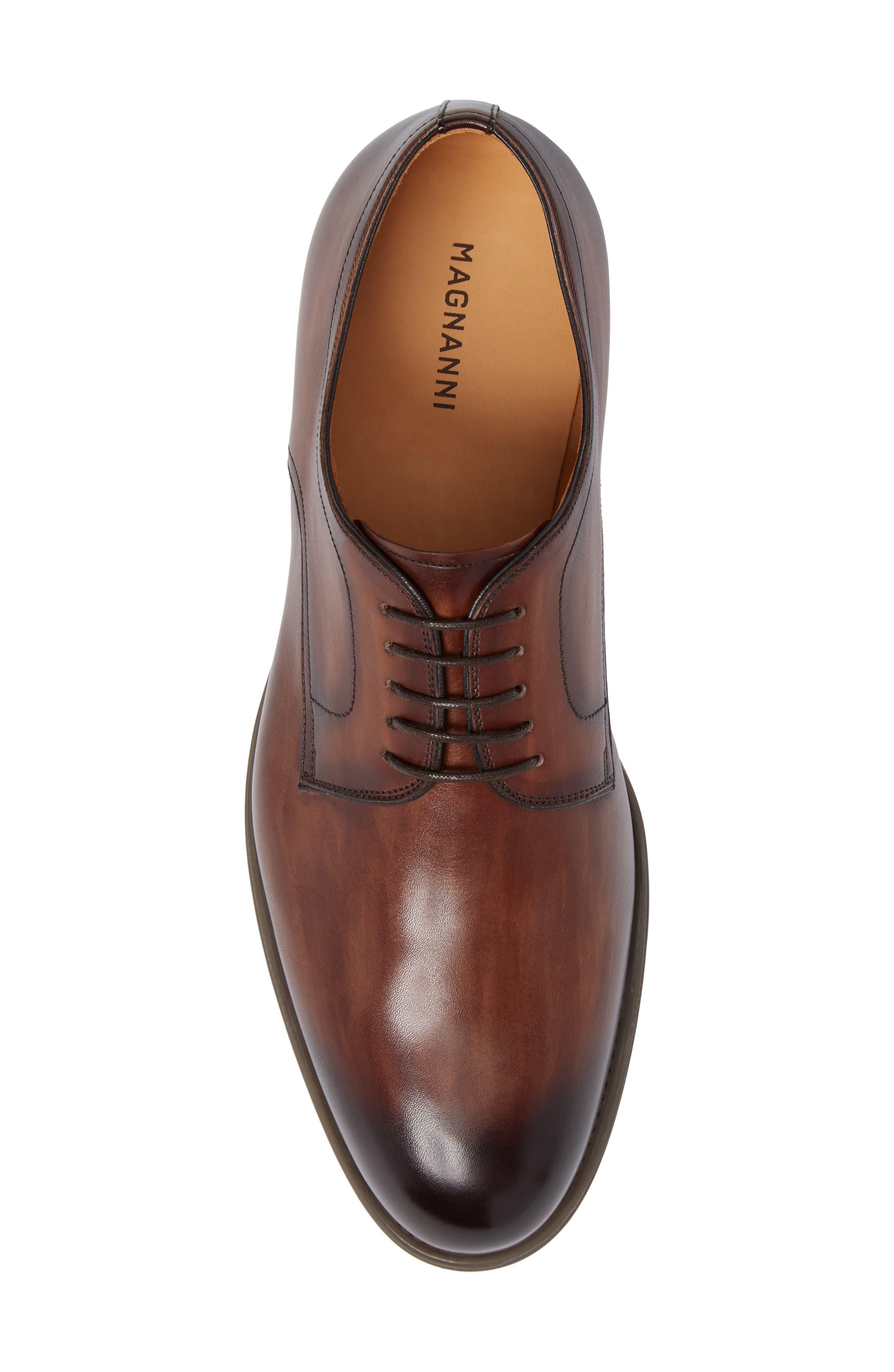 Alternate Image 5  - Magnanni Thiago Plain Toe Derby (Men)